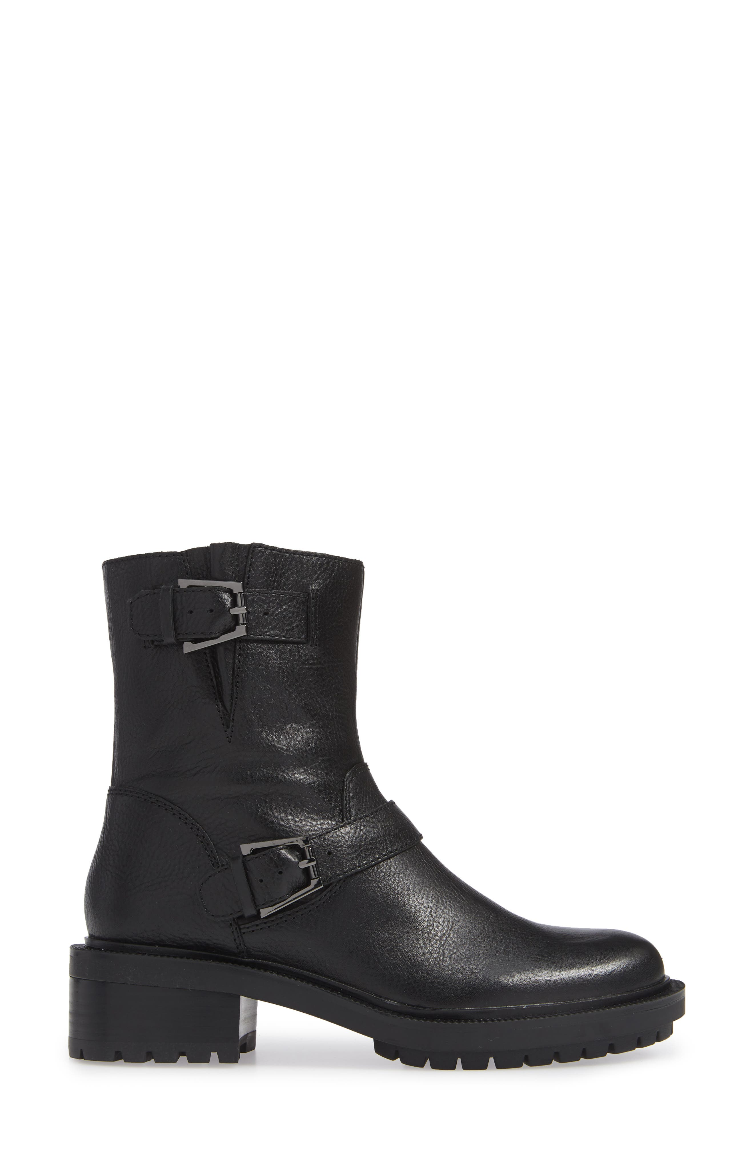 Marlow Boot,                             Alternate thumbnail 3, color,                             BLACK LEATHER