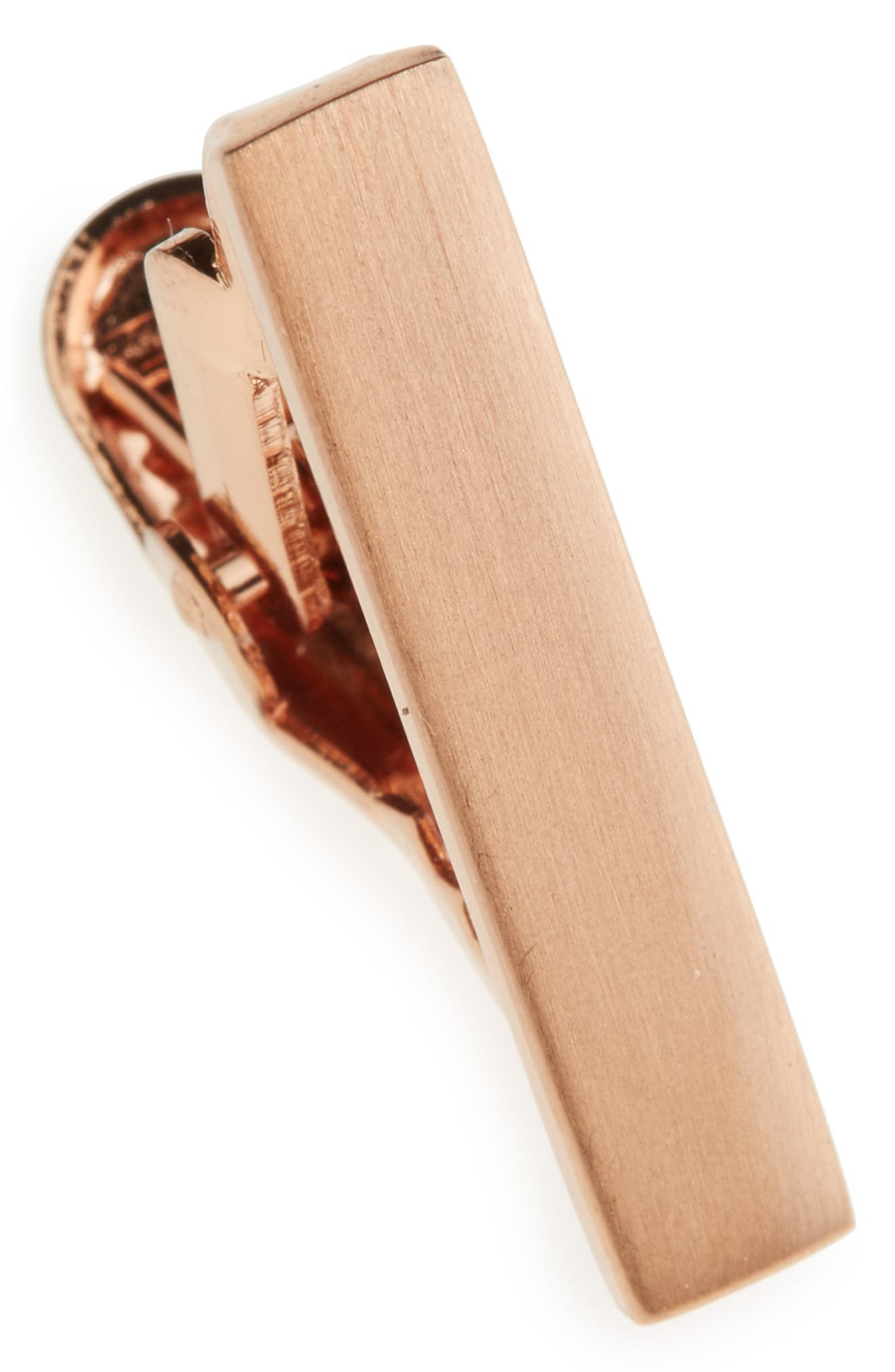 Brushed Tie Bar,                             Main thumbnail 2, color,