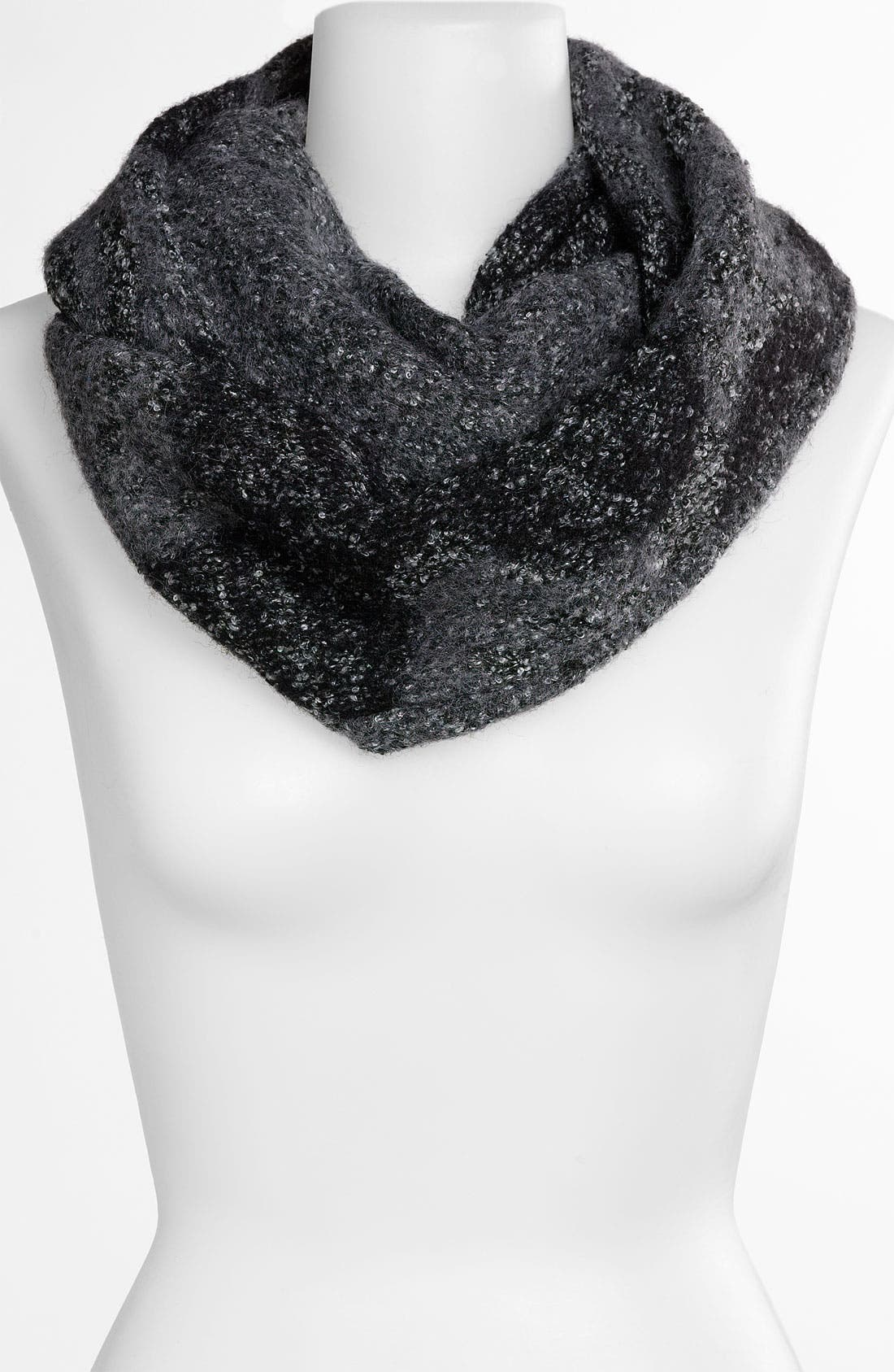 NORDSTROM,                             Infinity Scarf,                             Main thumbnail 1, color,                             001