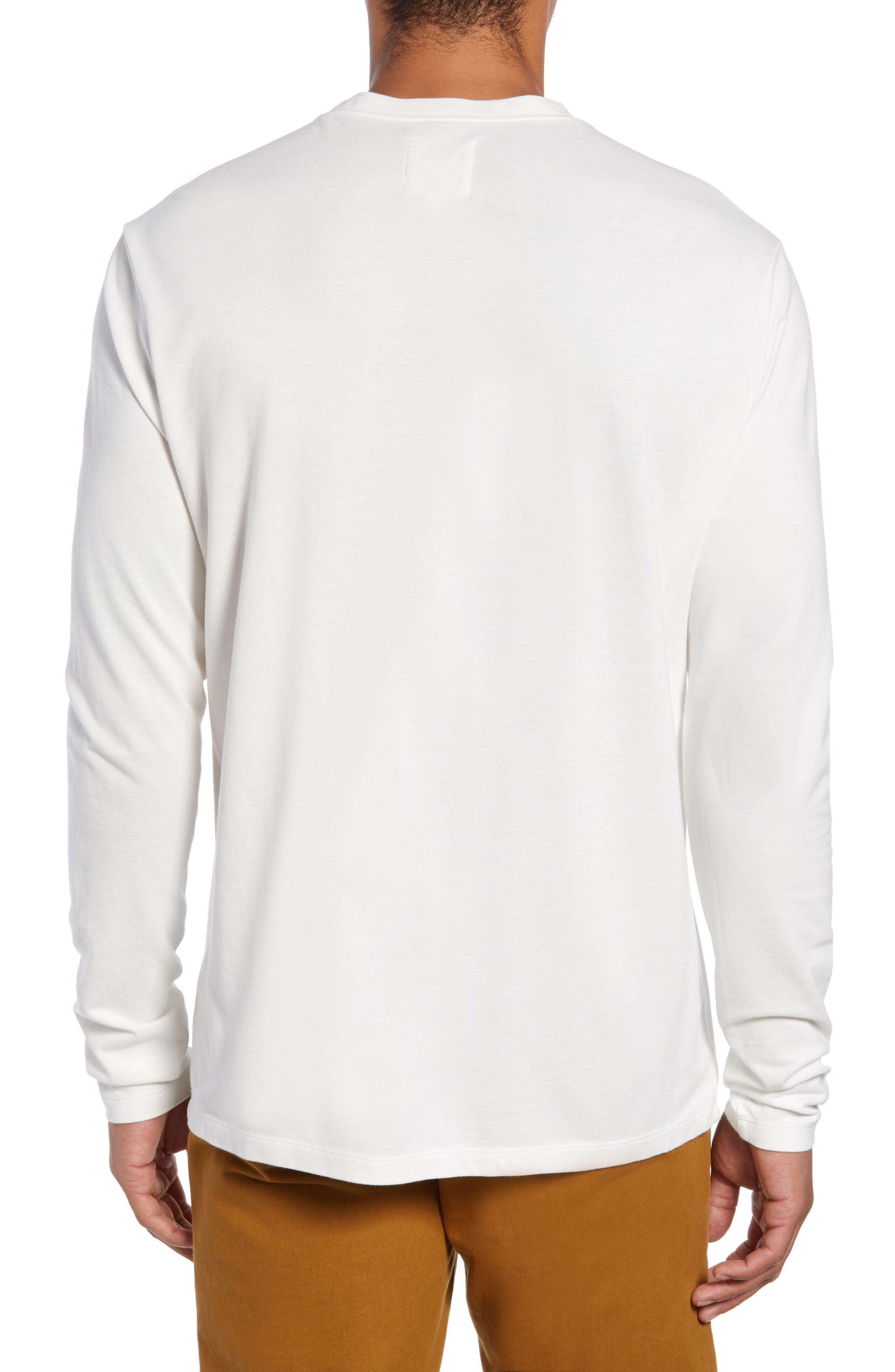 Piqua Pocket T-Shirt,                             Alternate thumbnail 2, color,                             WHITE