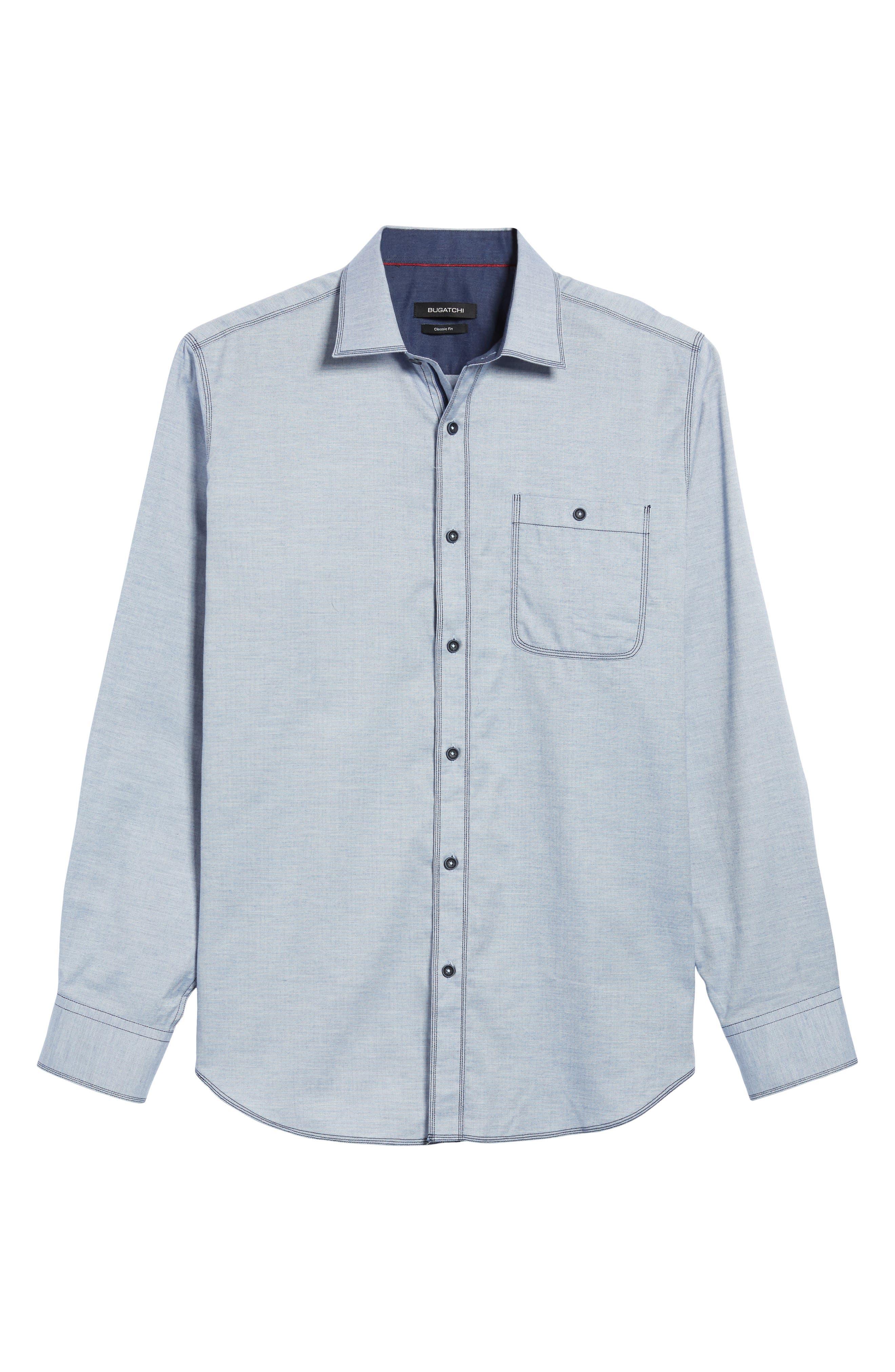 Classic Fit Sport Shirt,                             Alternate thumbnail 6, color,                             459