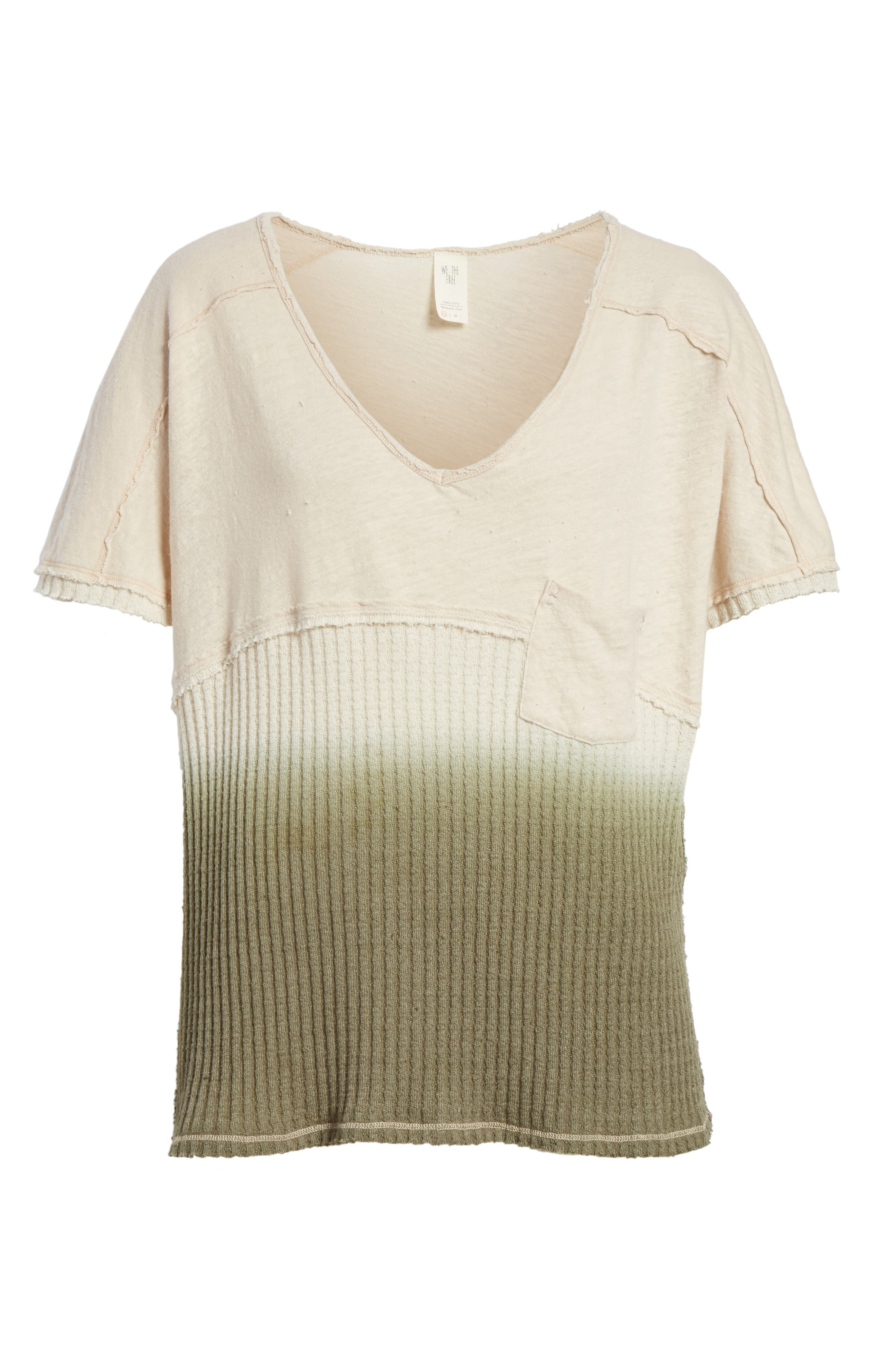 FREE PEOPLE,                             Sun Dial Tee,                             Alternate thumbnail 6, color,                             251