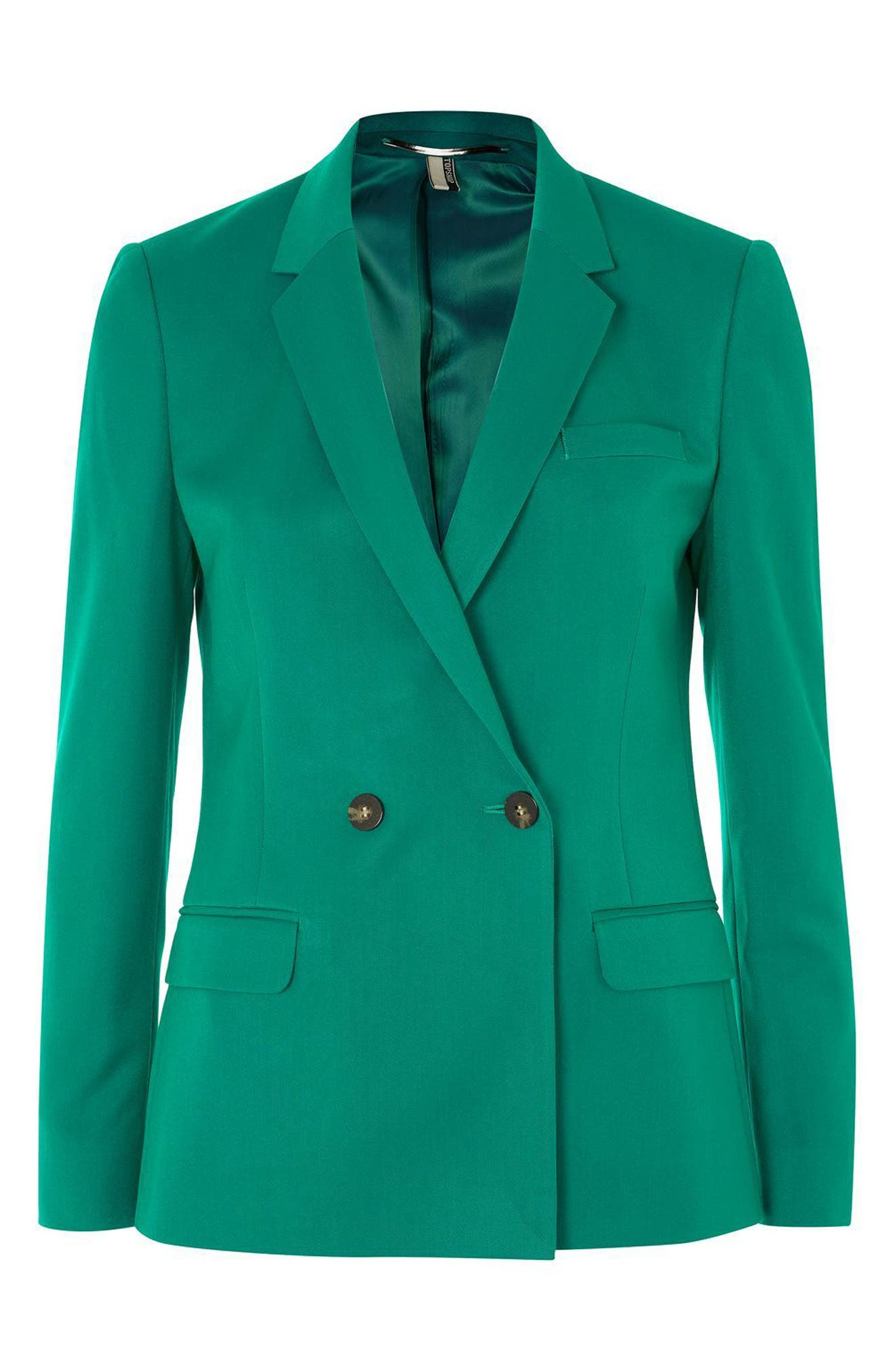 Double Breasted Suit Jacket,                             Alternate thumbnail 4, color,                             300