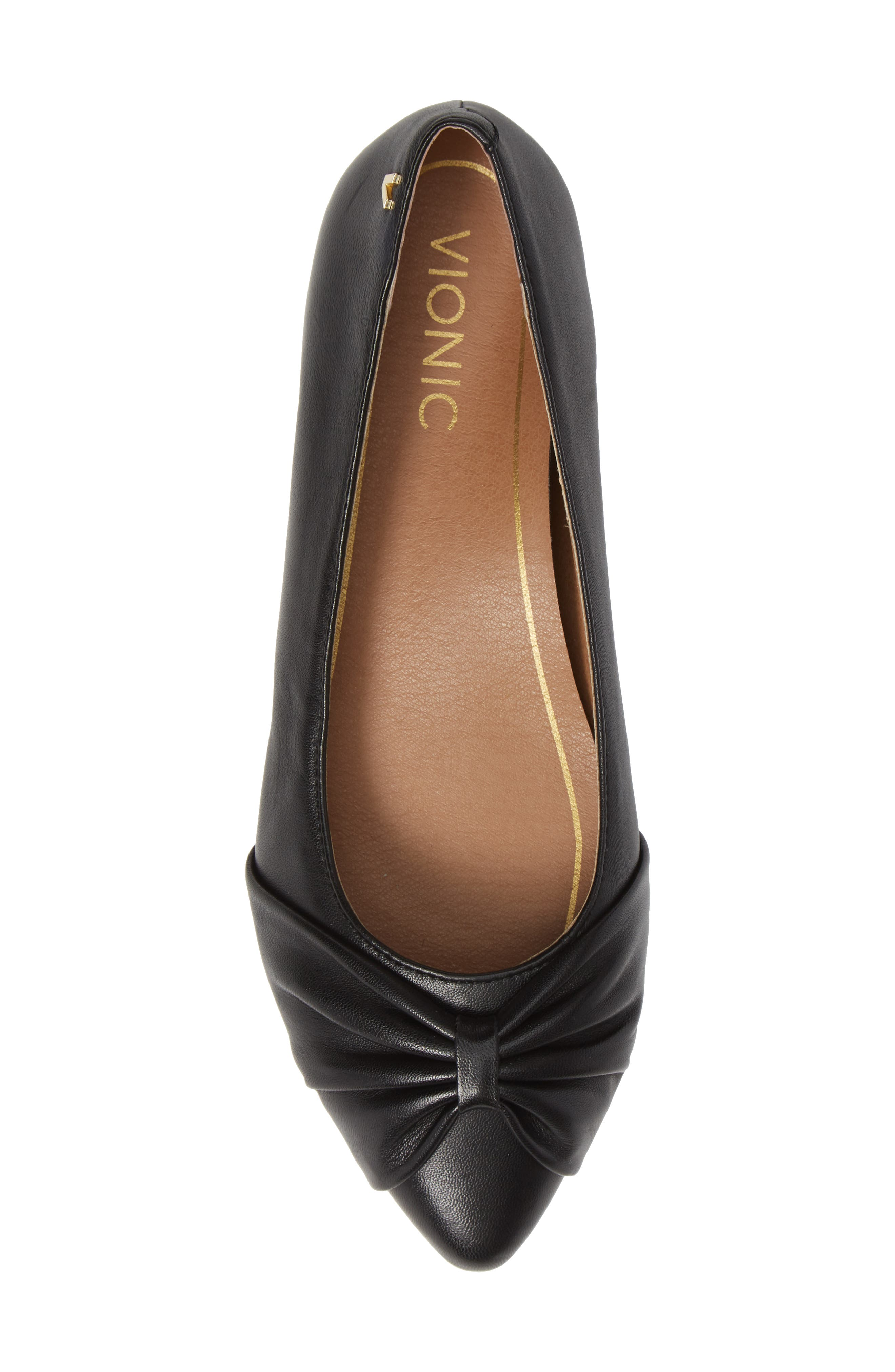 Gramercy Pointy Toe Flat,                             Alternate thumbnail 5, color,                             001