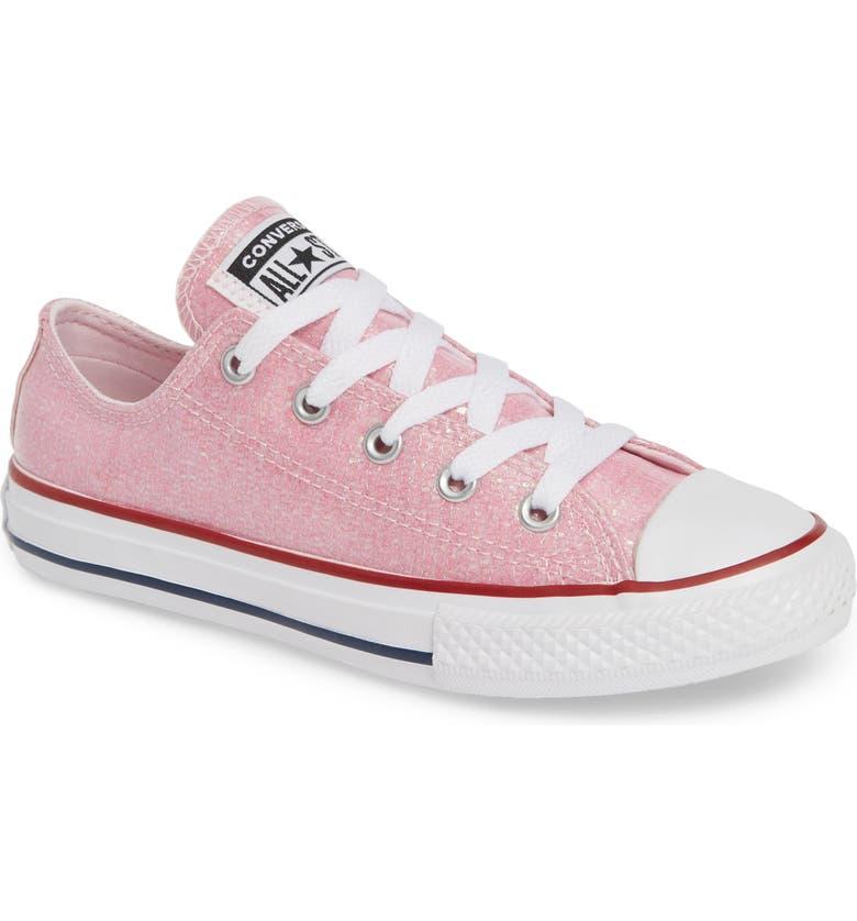 207d9e8e8d4ce3 Converse All Star® Seasonal Glitter OX Low Top Sneaker (Toddler ...
