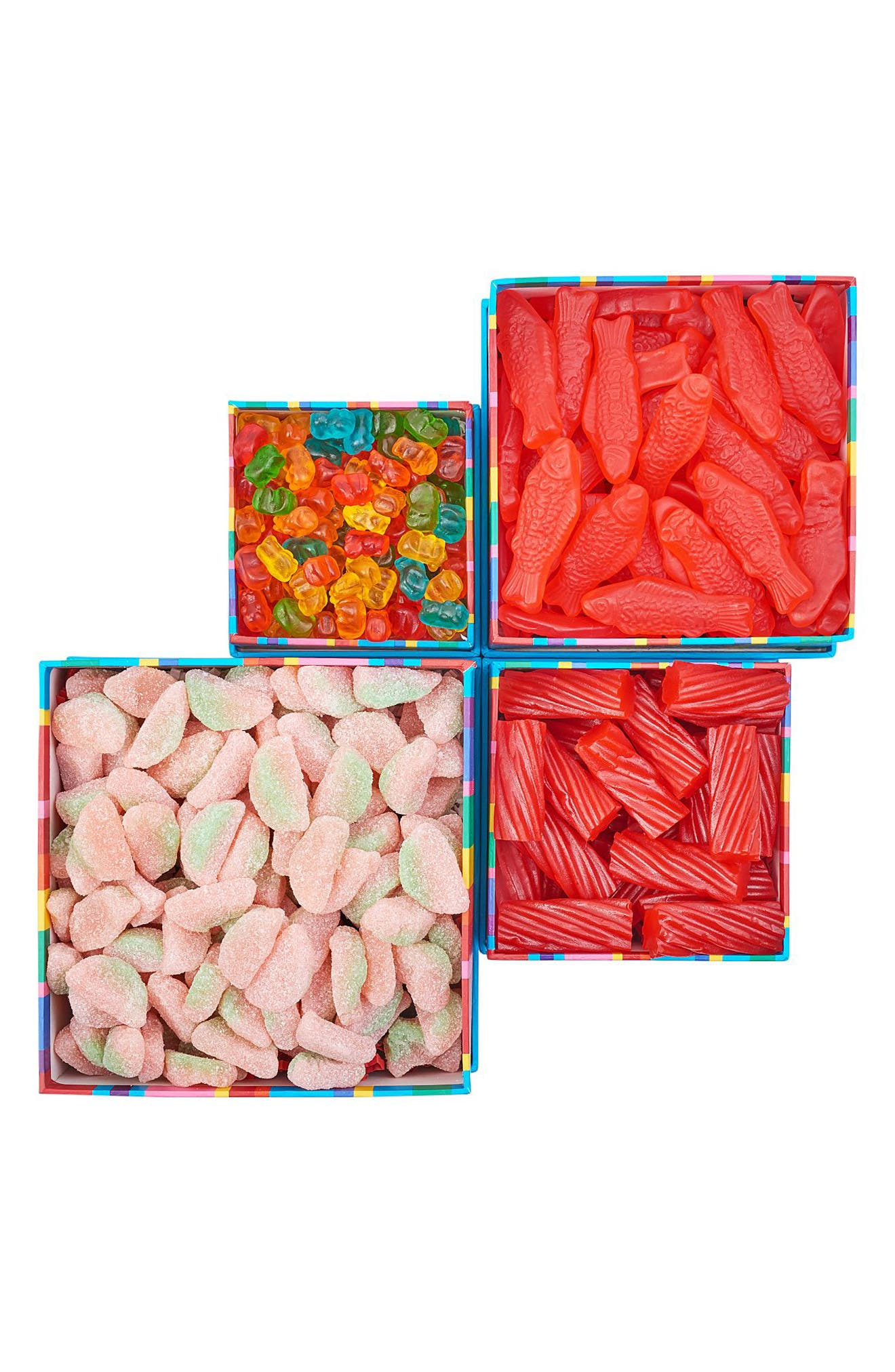 DYLAN'S CANDY BAR,                             Gummy Sweet Treat Tower,                             Alternate thumbnail 2, color,                             BLUE