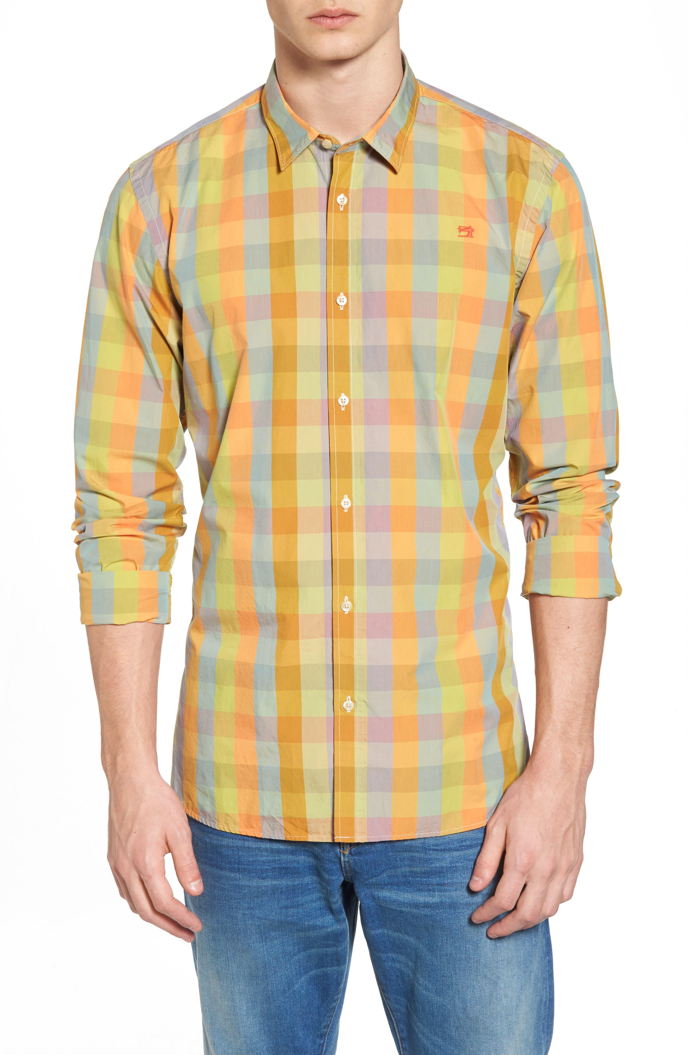 Slim Fit Poplin Shirt,                             Main thumbnail 1, color,                             400