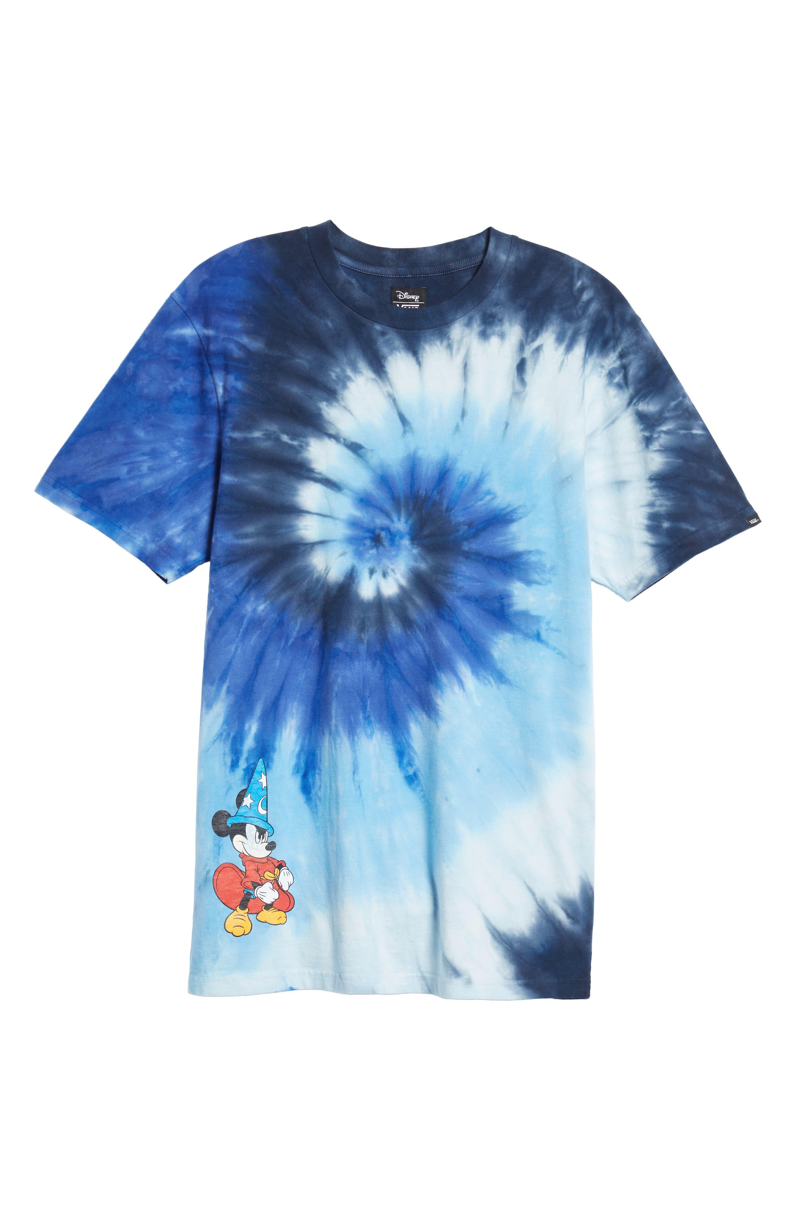 x Disney Mickey's 90th Anniversary T-Shirt,                             Alternate thumbnail 6, color,                             MICKEY FANTASIA TIE DYE