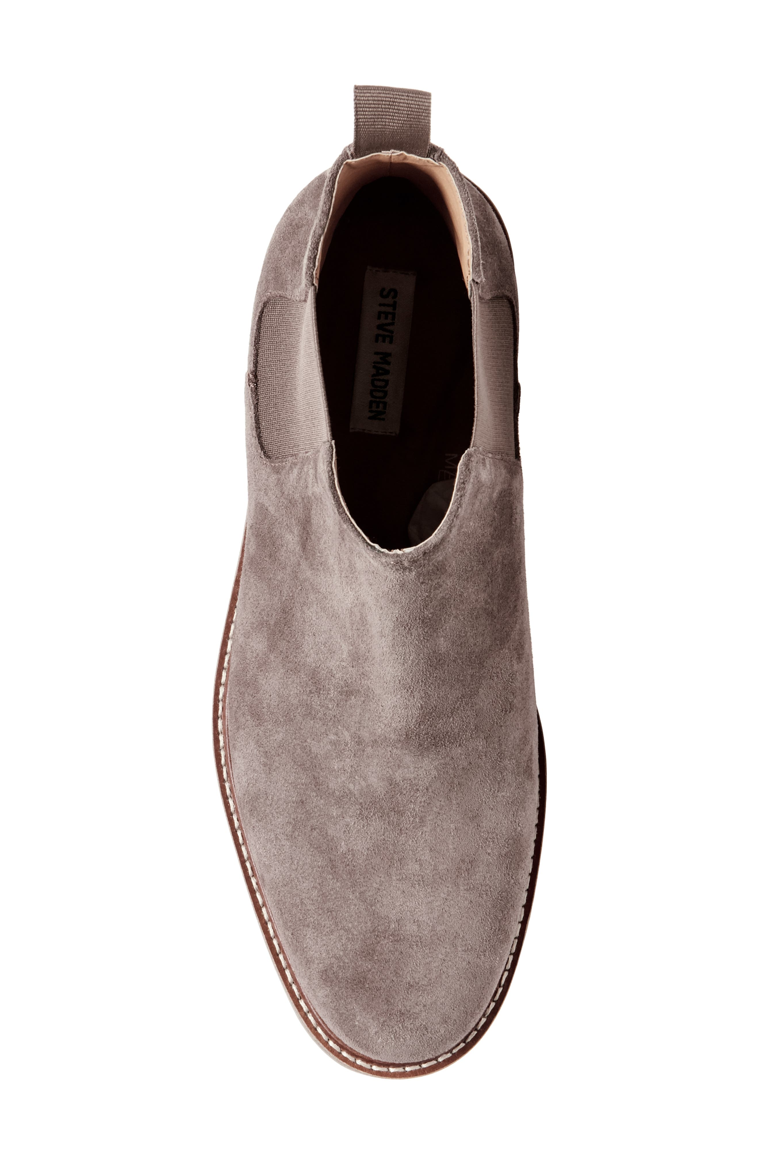 Highline Chelsea Boot,                             Alternate thumbnail 5, color,                             TAUPE SUEDE