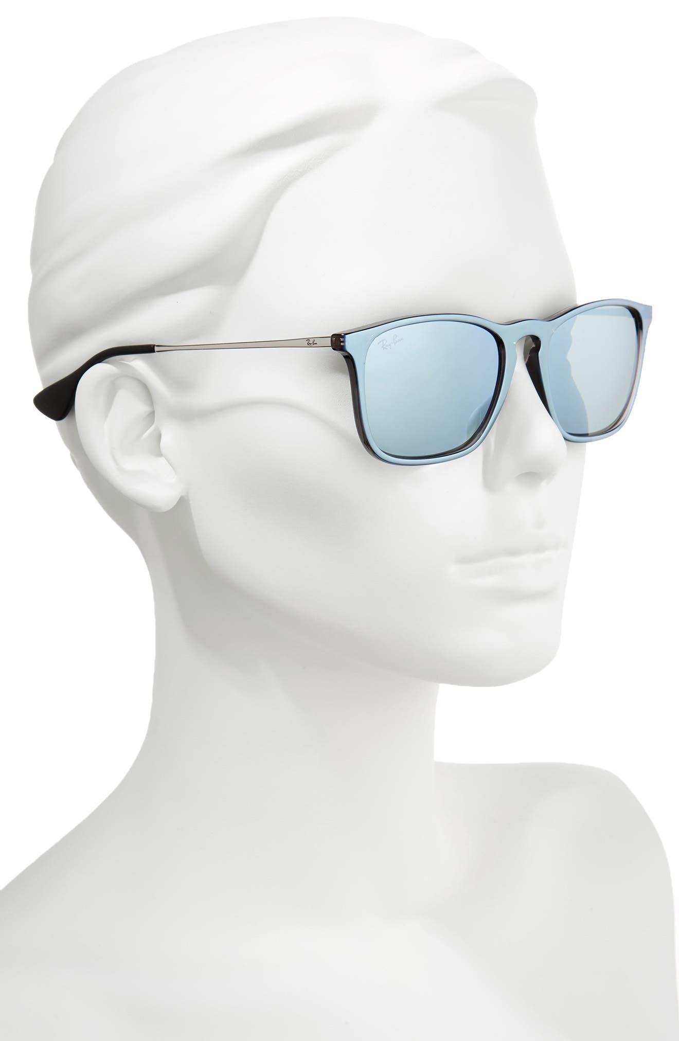'Youngster' Velvet 54mm Sunglasses,                             Alternate thumbnail 2, color,                             102