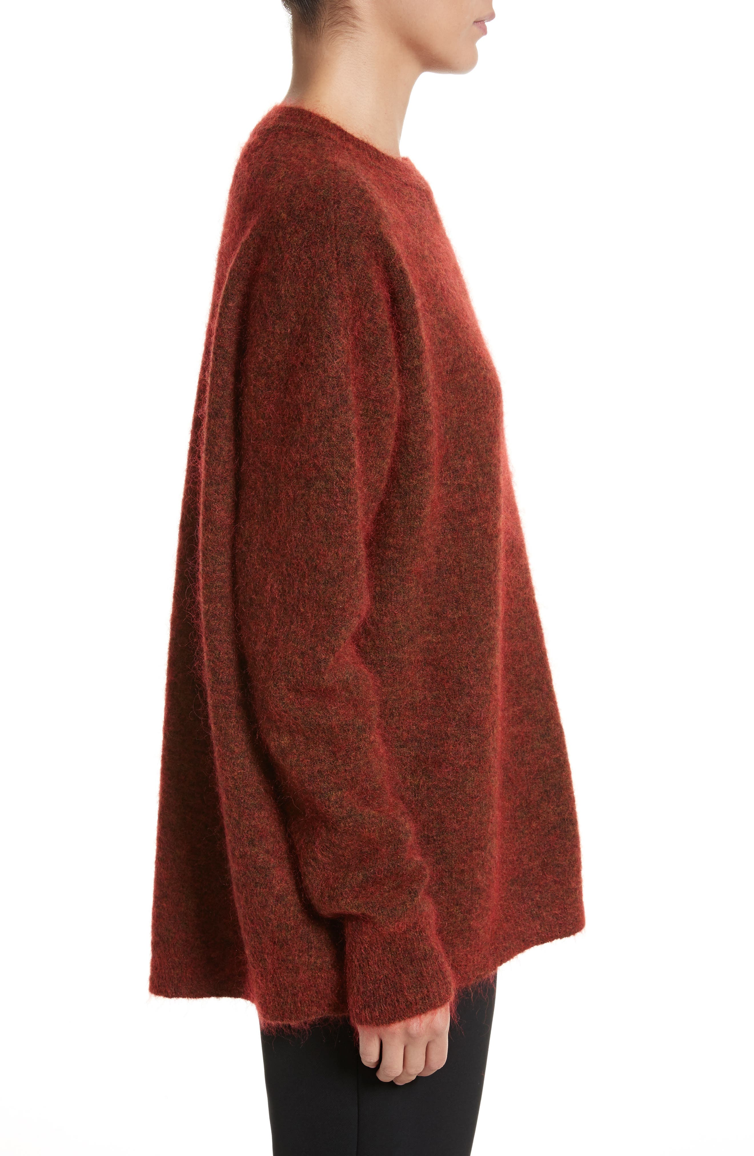 Tambourine Open Back Sweater,                             Alternate thumbnail 3, color,