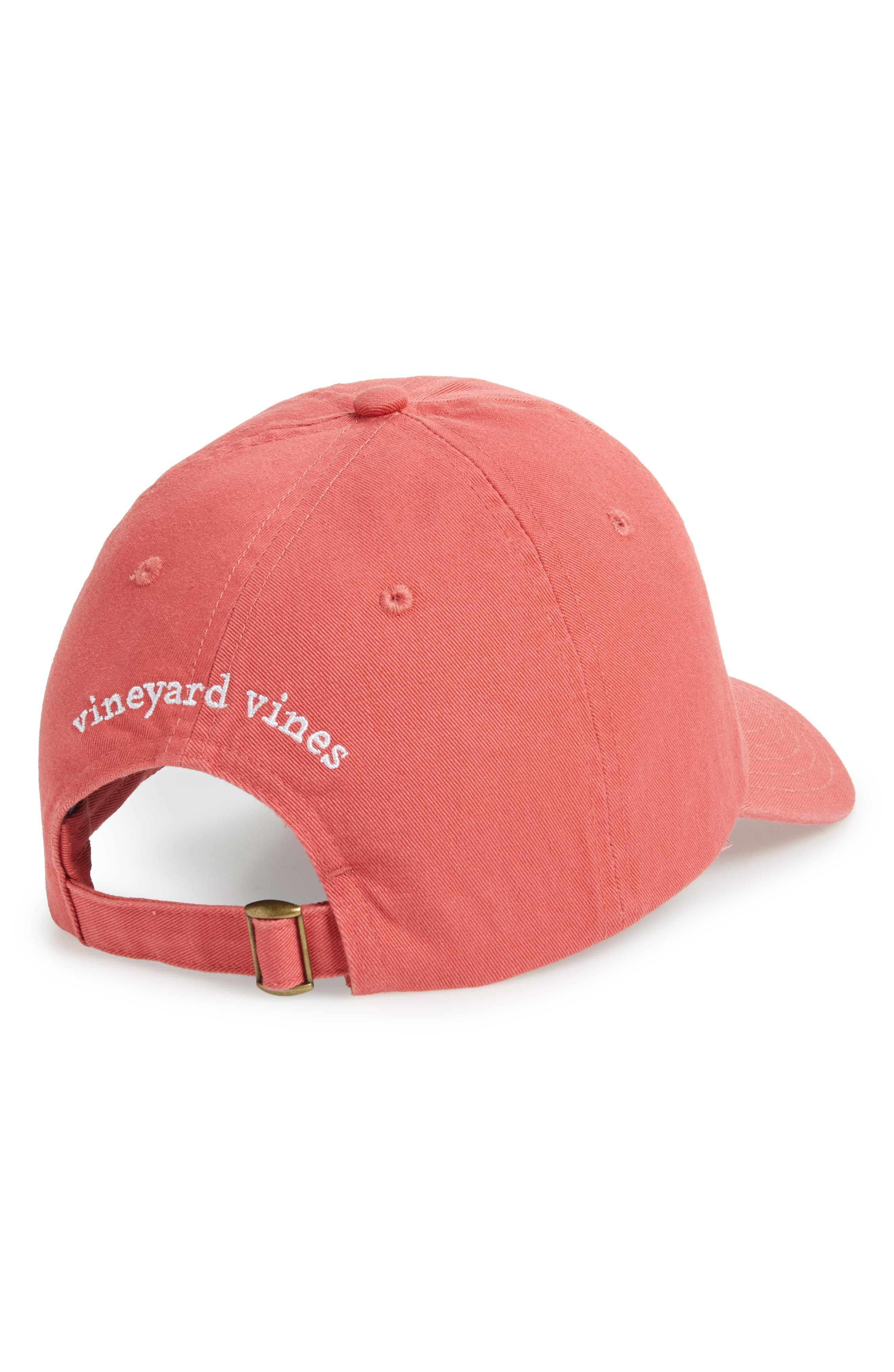 Classic Crab Icon Hat,                             Alternate thumbnail 2, color,                             JETTY RED