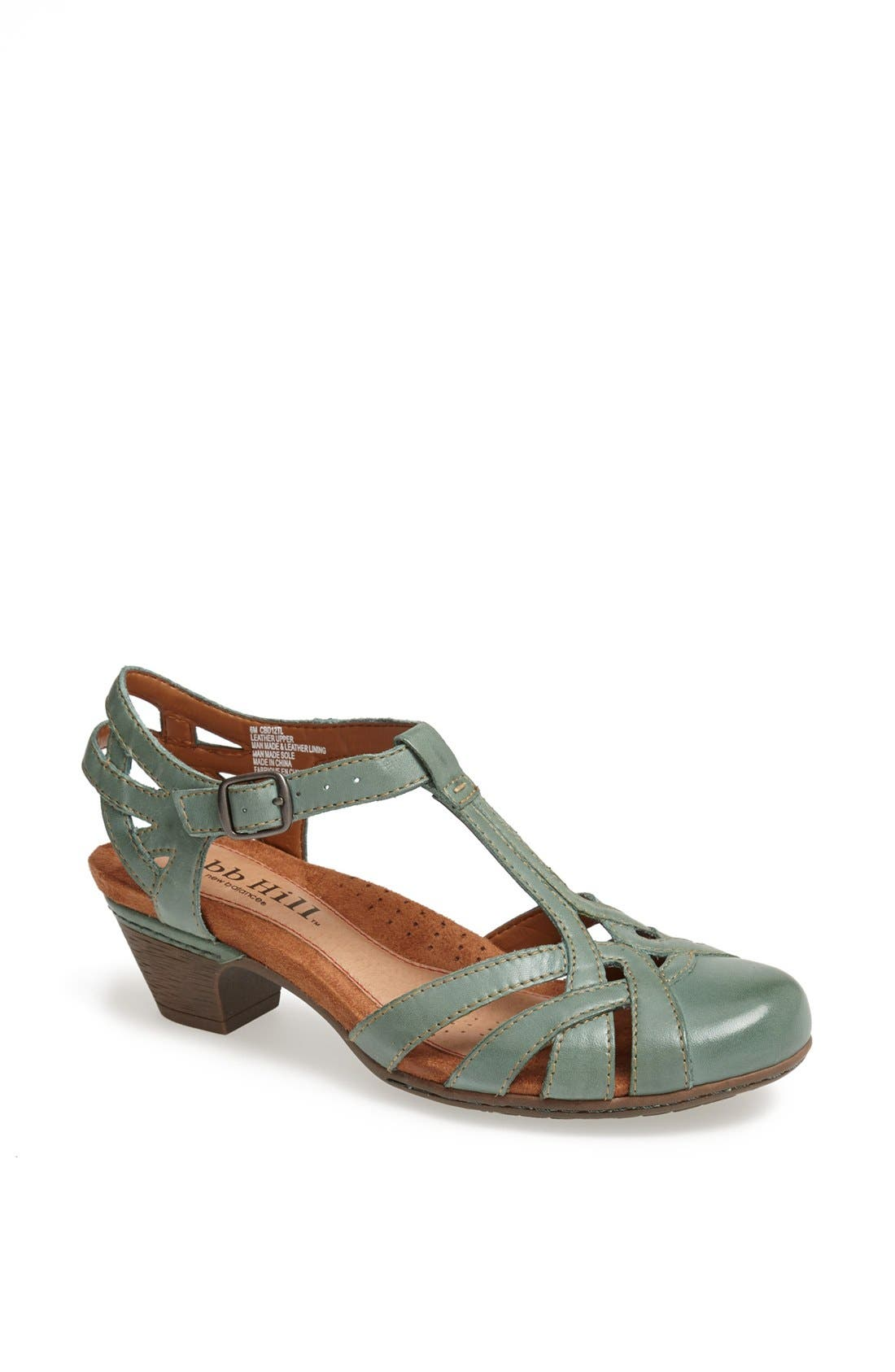 Vintage Sandals | Wedges, Espadrilles – 30s, 40s, 50s, 60s, 70s Womens Rockport Cobb Hill Aubrey Sandal Size 6.5 W - Bluegreen $99.95 AT vintagedancer.com