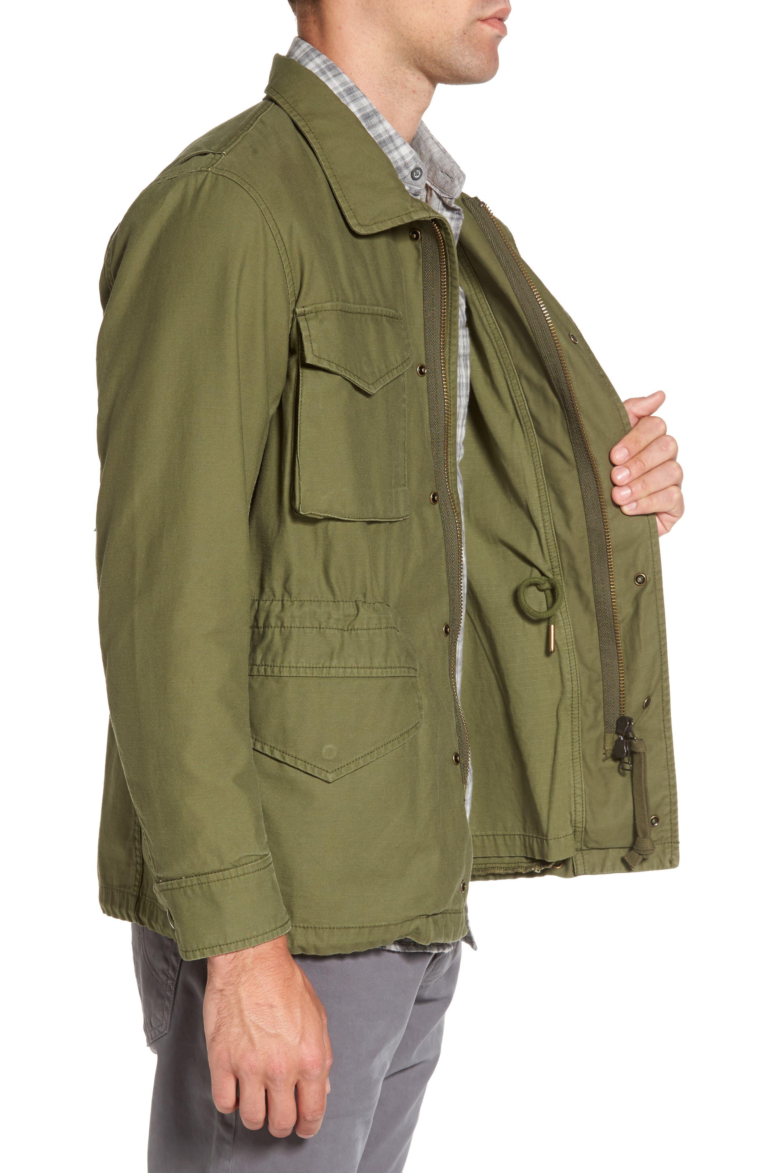Jameson Field Jacket,                             Alternate thumbnail 3, color,                             396