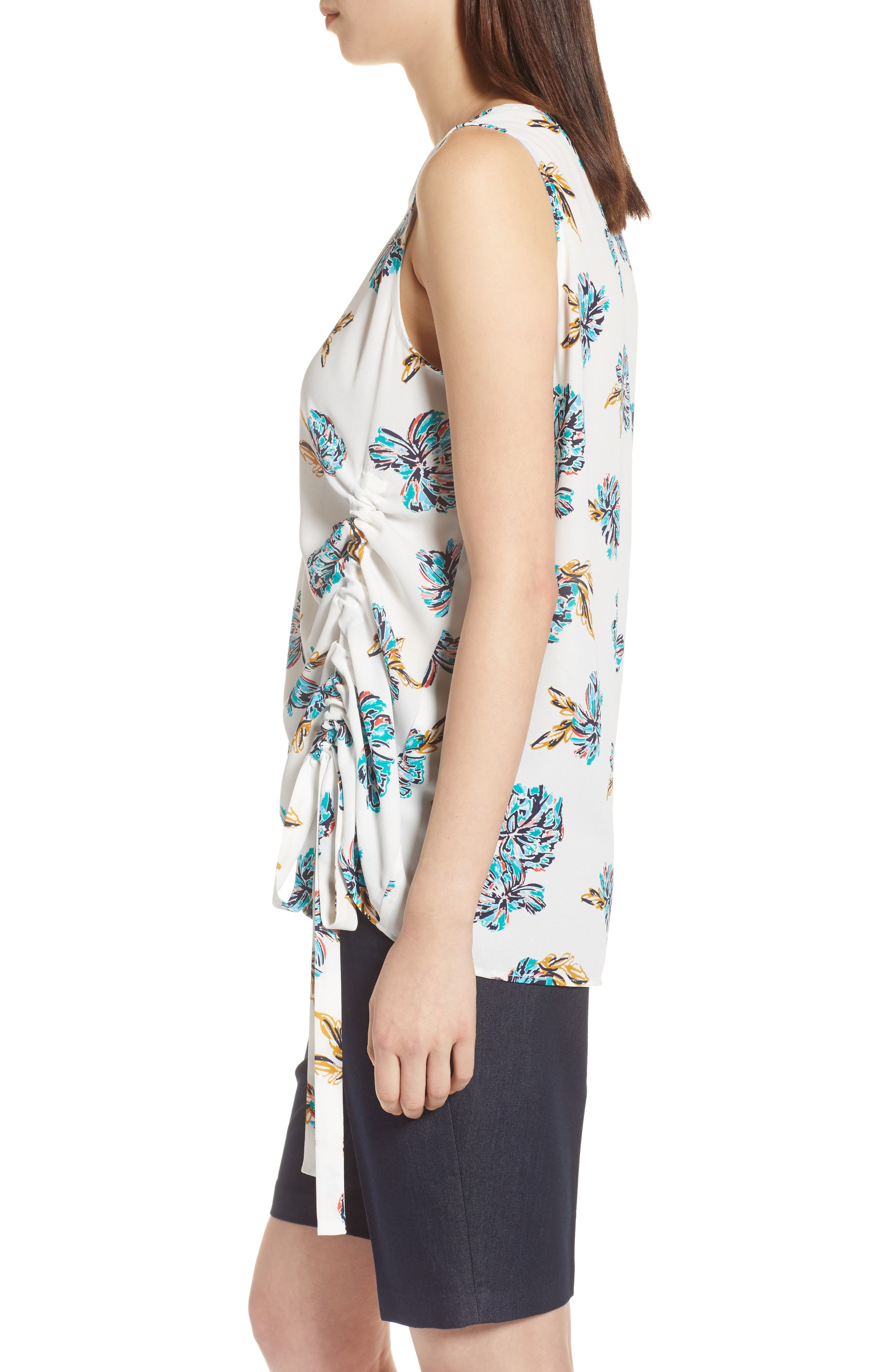 Side Ruched Top,                             Alternate thumbnail 12, color,