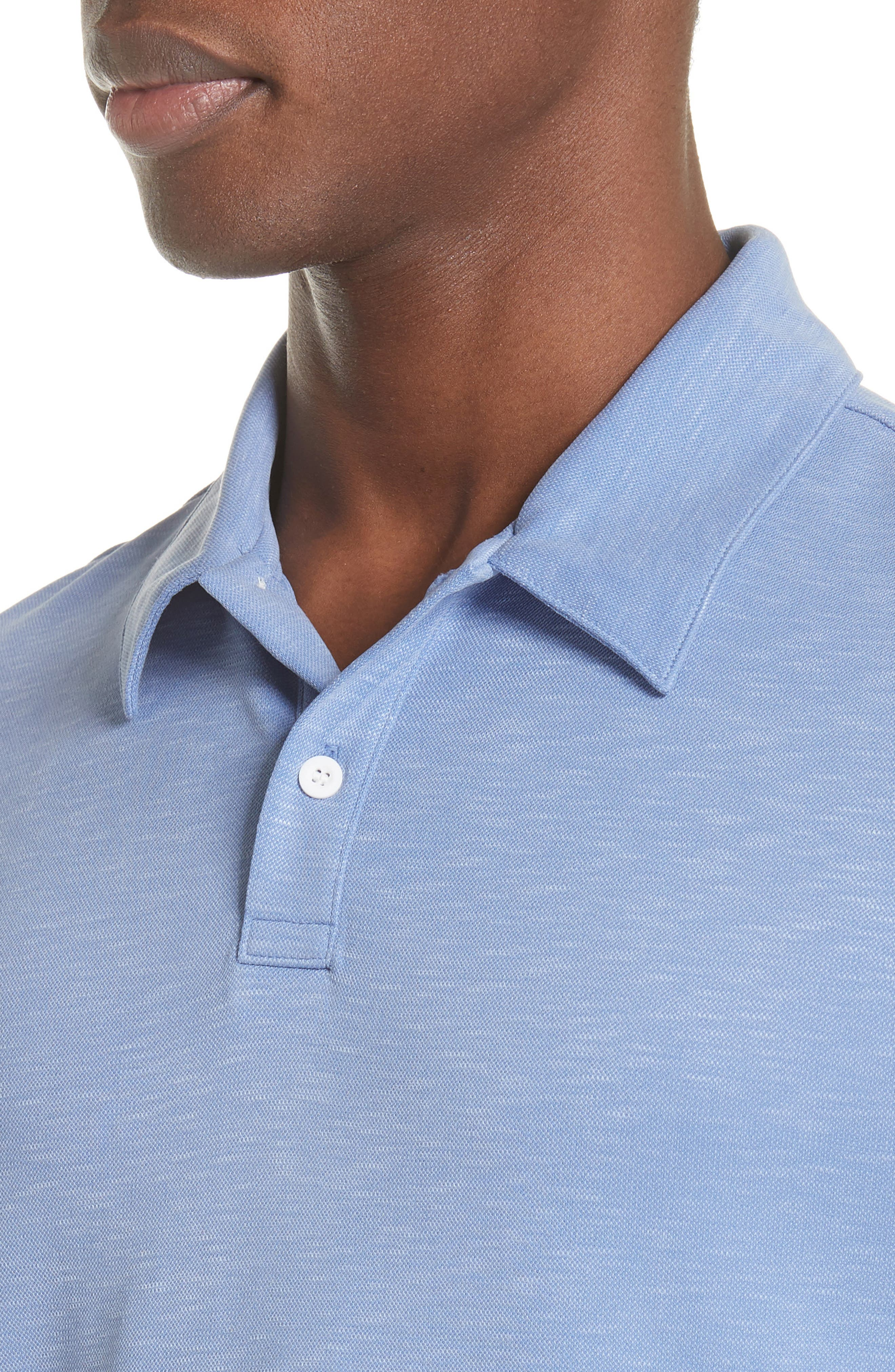Alec Jersey Polo,                             Alternate thumbnail 4, color,                             444