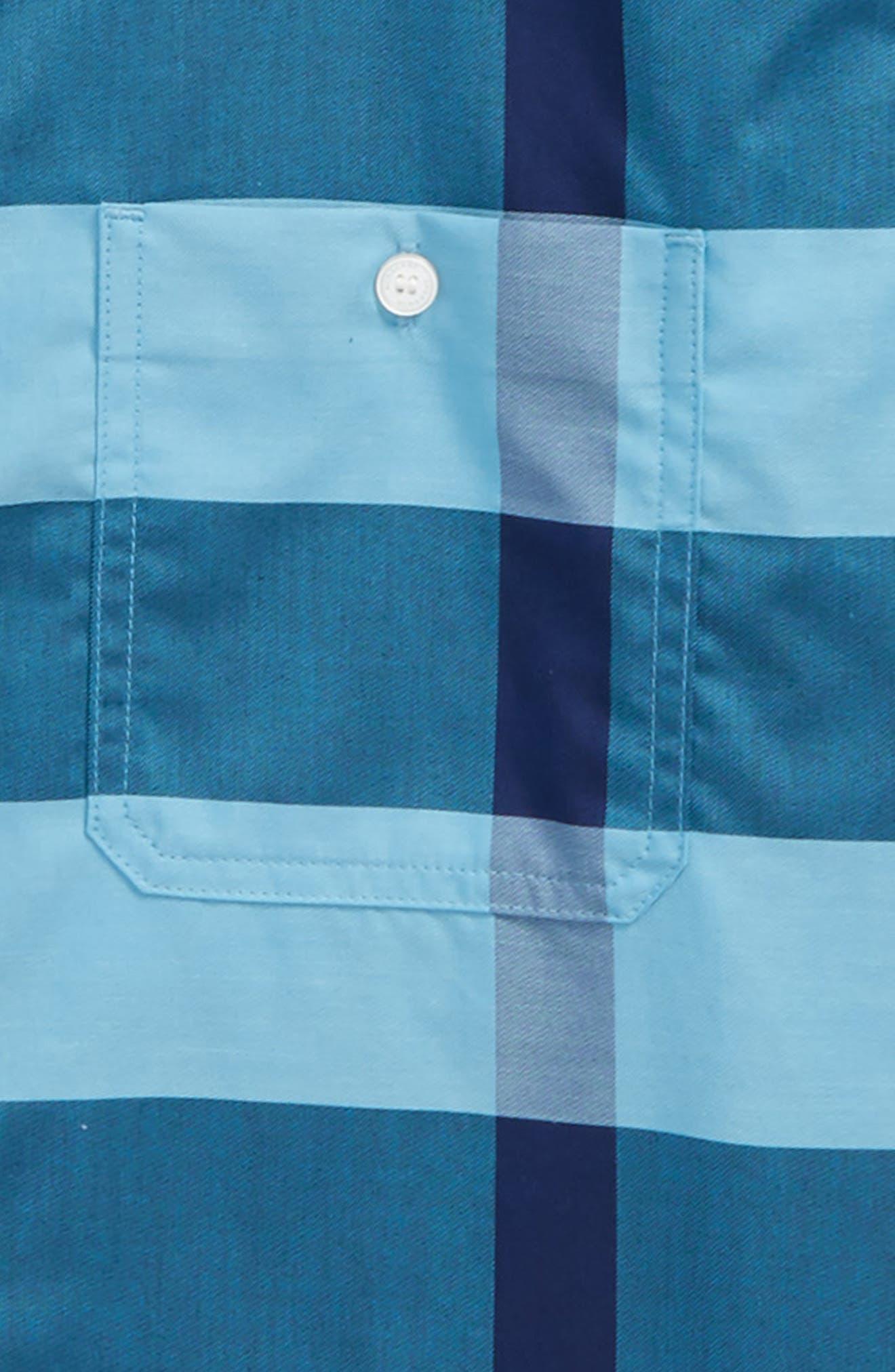 Camber Check Shirt,                             Alternate thumbnail 4, color,