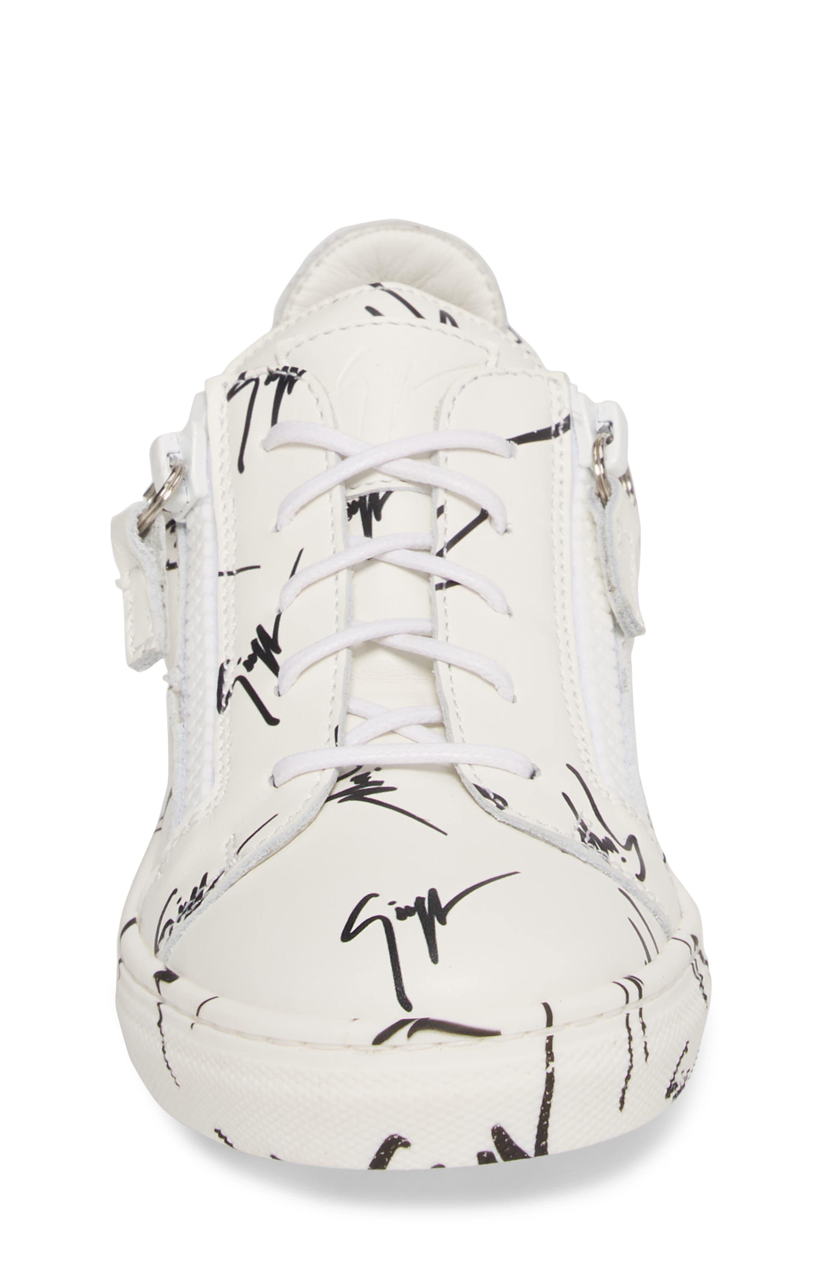 The Signature Jr. Sneaker,                             Alternate thumbnail 4, color,                             100