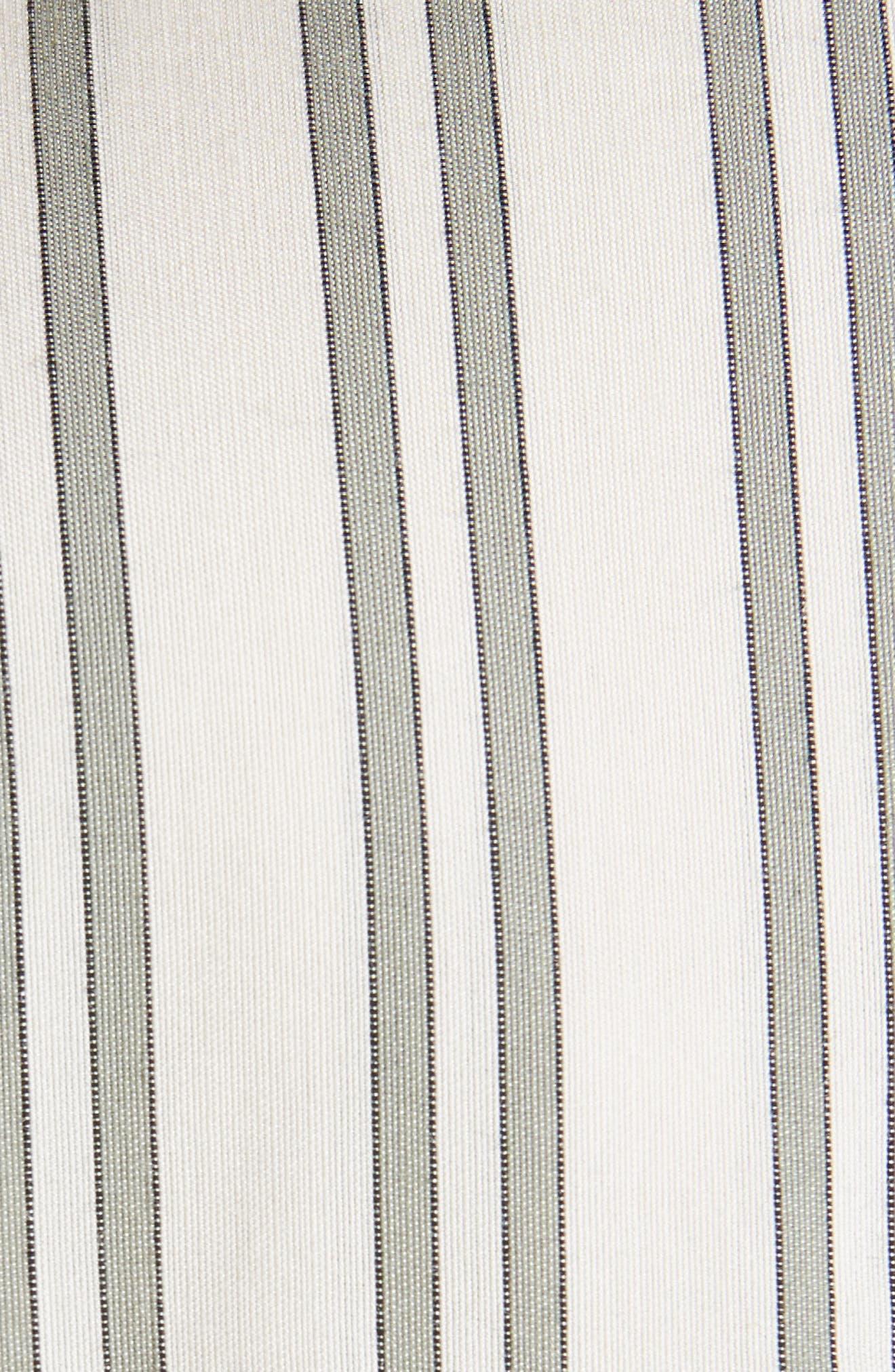 Idoa Stripe Tunic,                             Alternate thumbnail 5, color,                             100