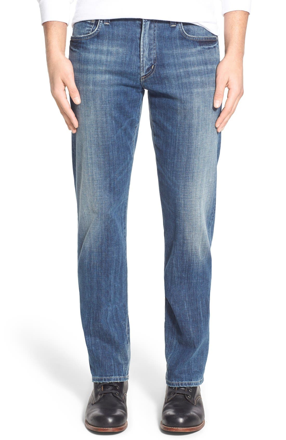 'Sid' Straight Leg Jeans,                             Main thumbnail 1, color,                             430