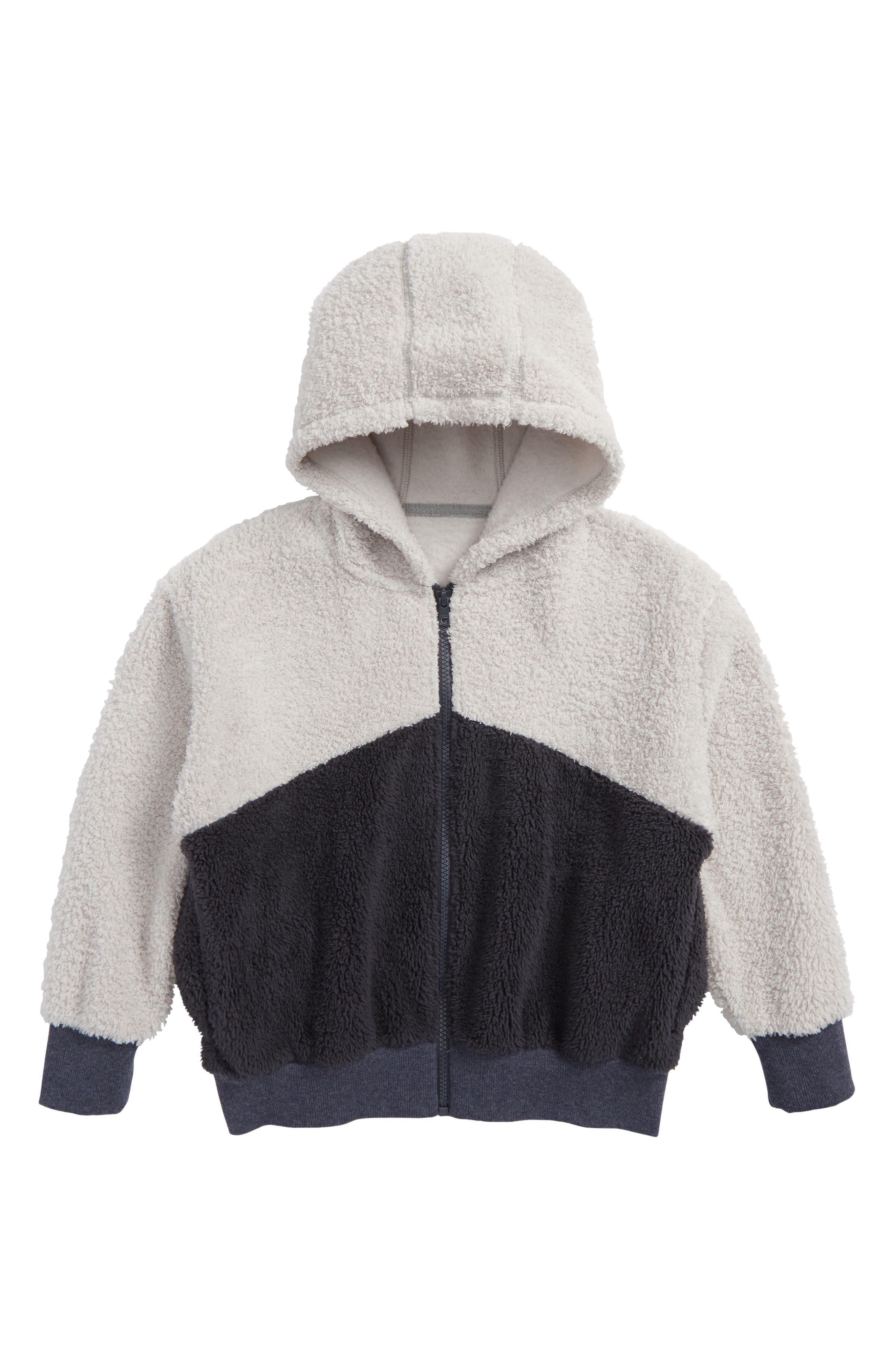Two-Tone Hooded Jacket,                             Main thumbnail 1, color,