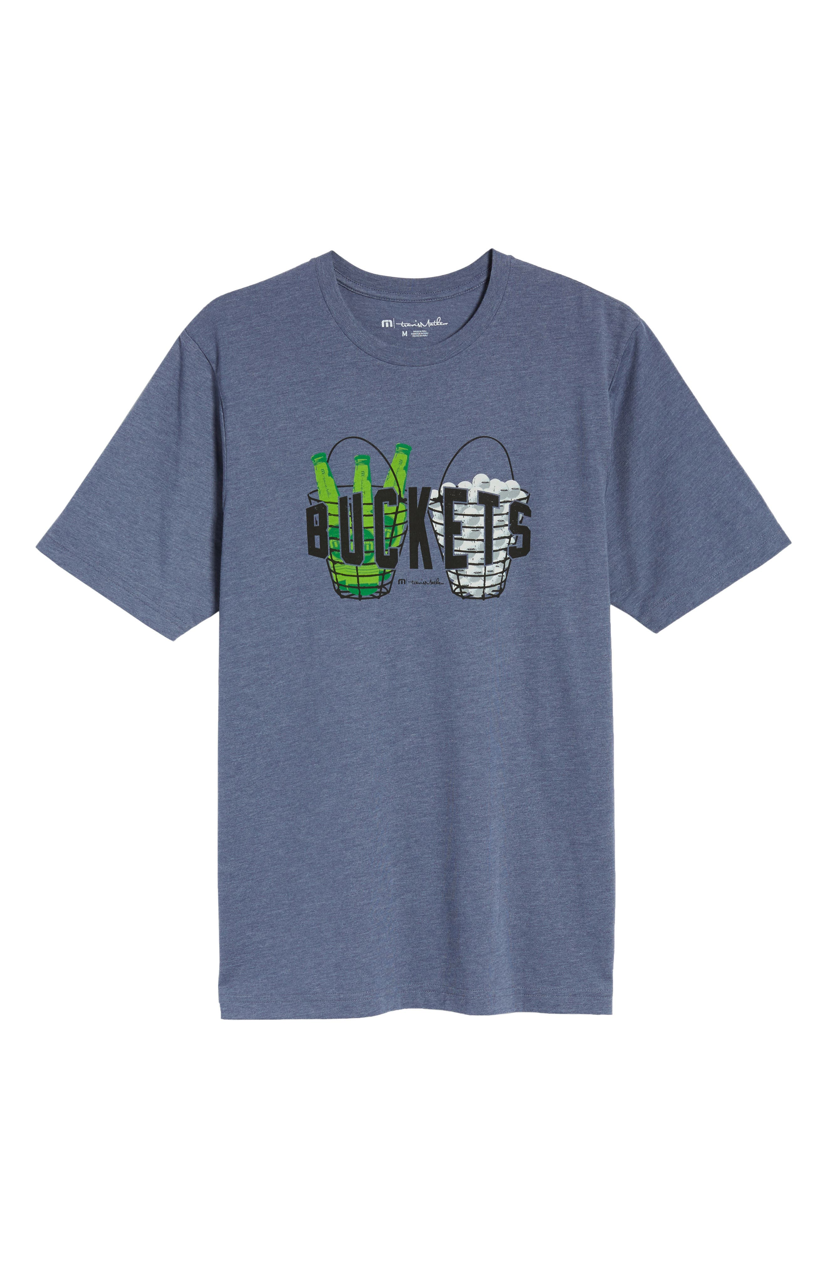 'Buckets' Graphic T-Shirt,                             Alternate thumbnail 6, color,                             400