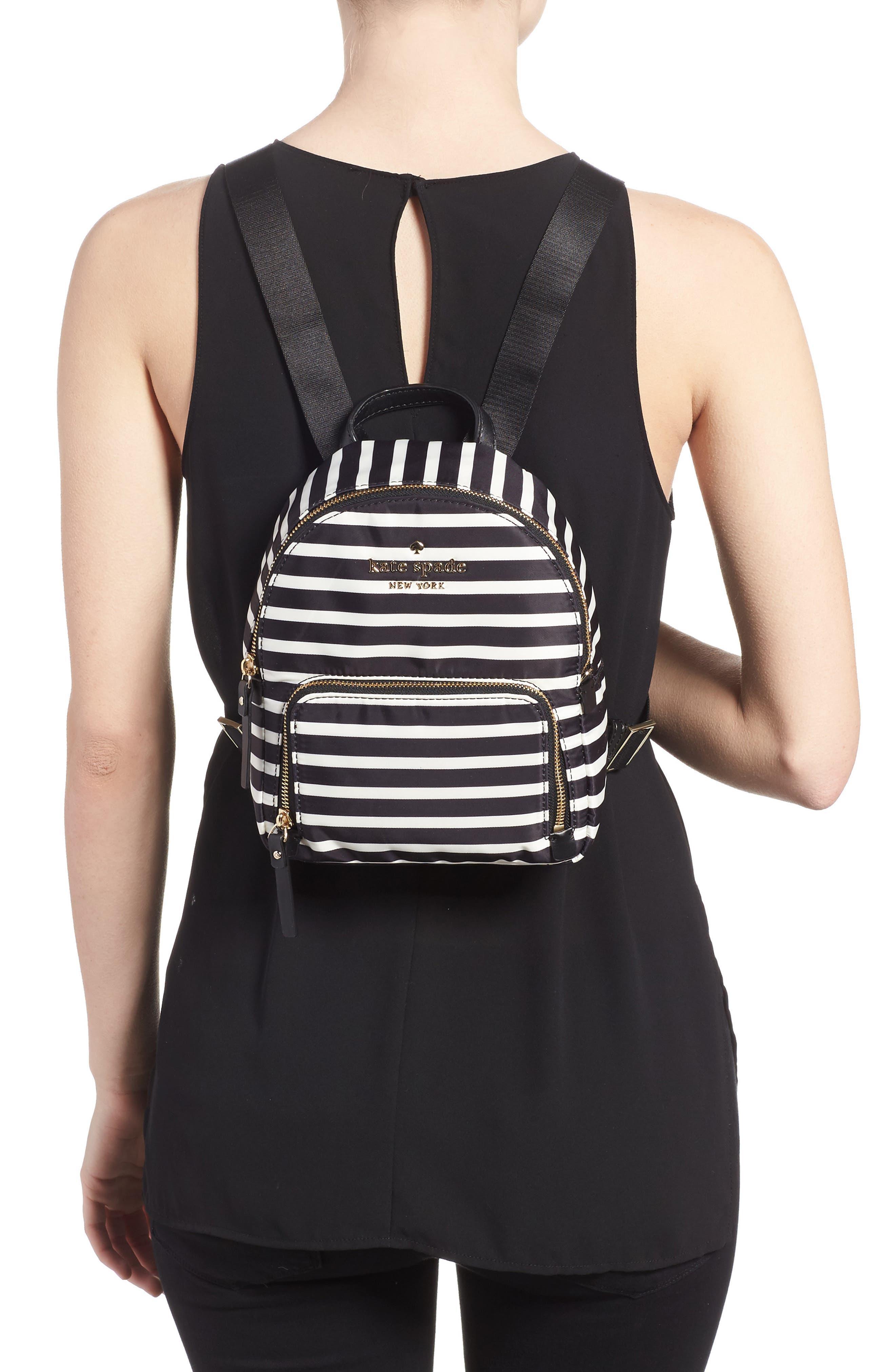 watson lane - small hartley nylon backpack,                             Alternate thumbnail 2, color,                             001
