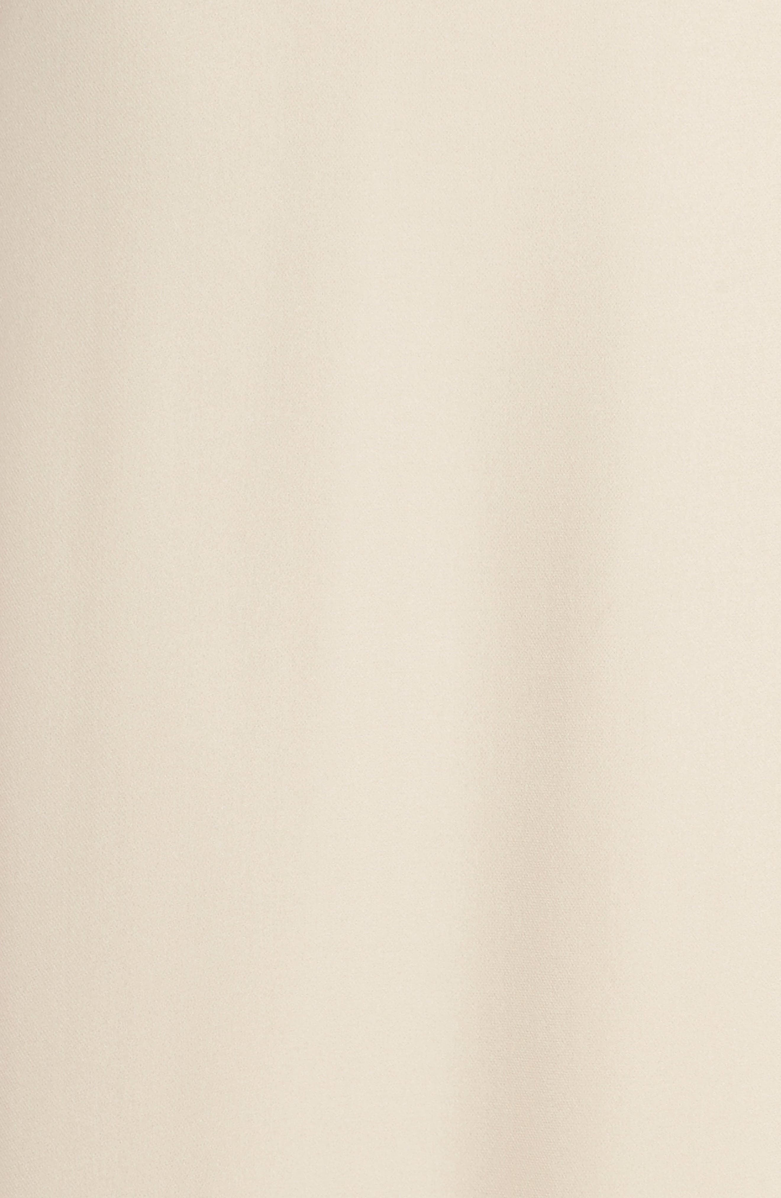 'Harlow' Belted Silk Georgette Deep V-Back Gown,                             Alternate thumbnail 2, color,                             NUDE