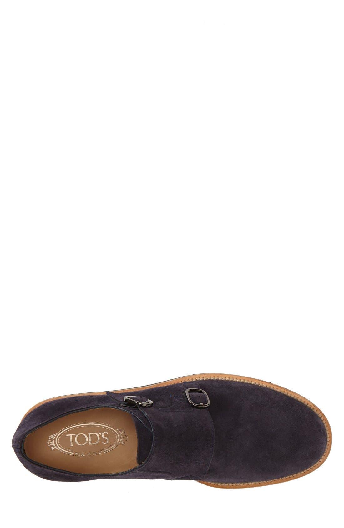 Double Monk Strap Shoe,                             Alternate thumbnail 3, color,                             410