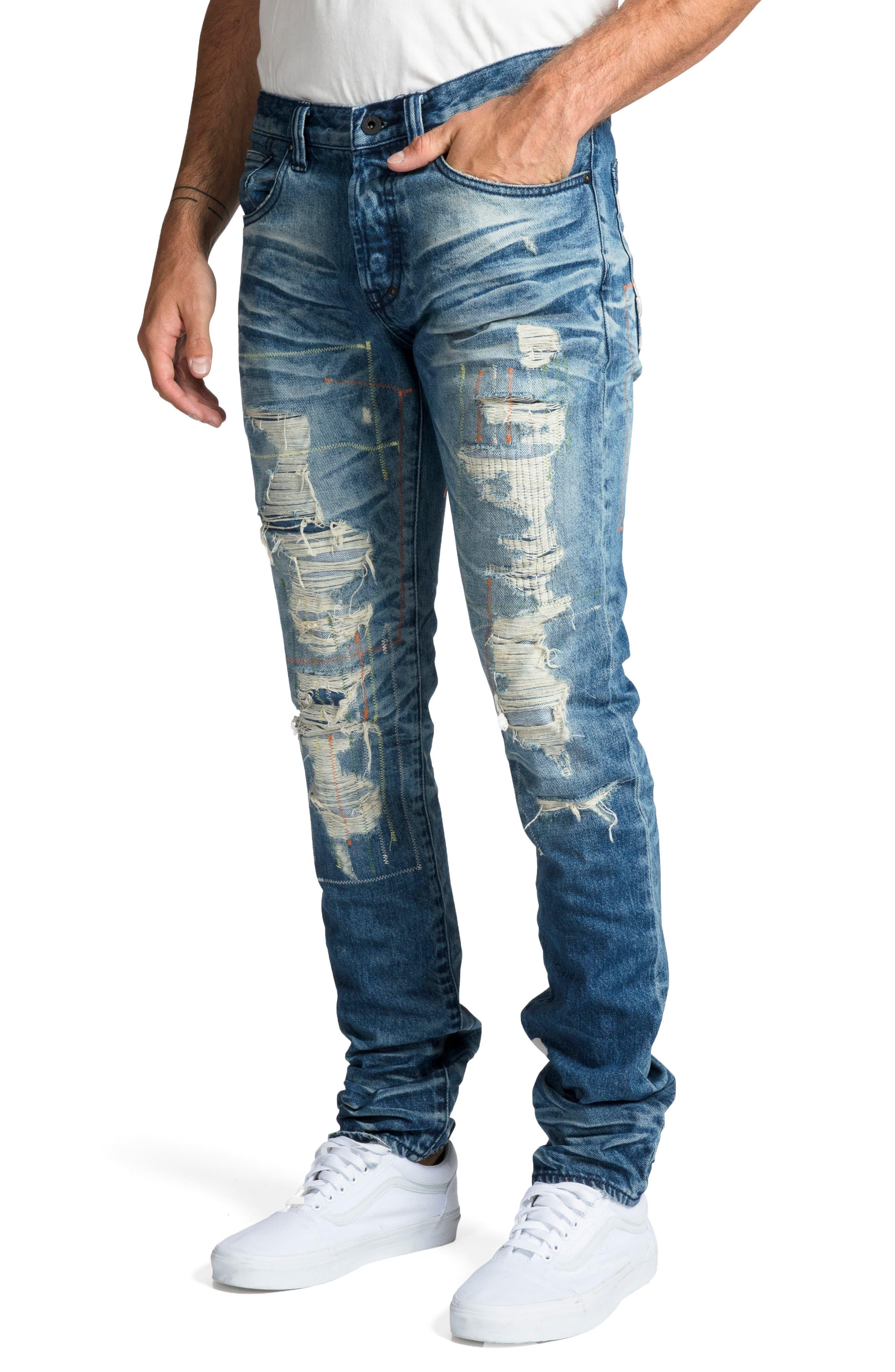 Le Sabre Slim Fit Jeans,                             Alternate thumbnail 3, color,                             COOING