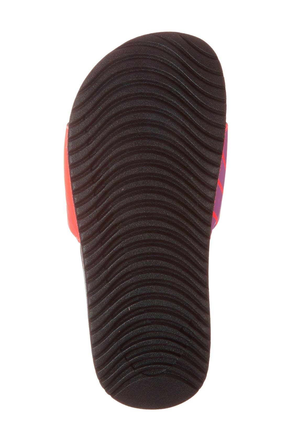 'Kawa' Print Slide Sandal,                             Alternate thumbnail 15, color,