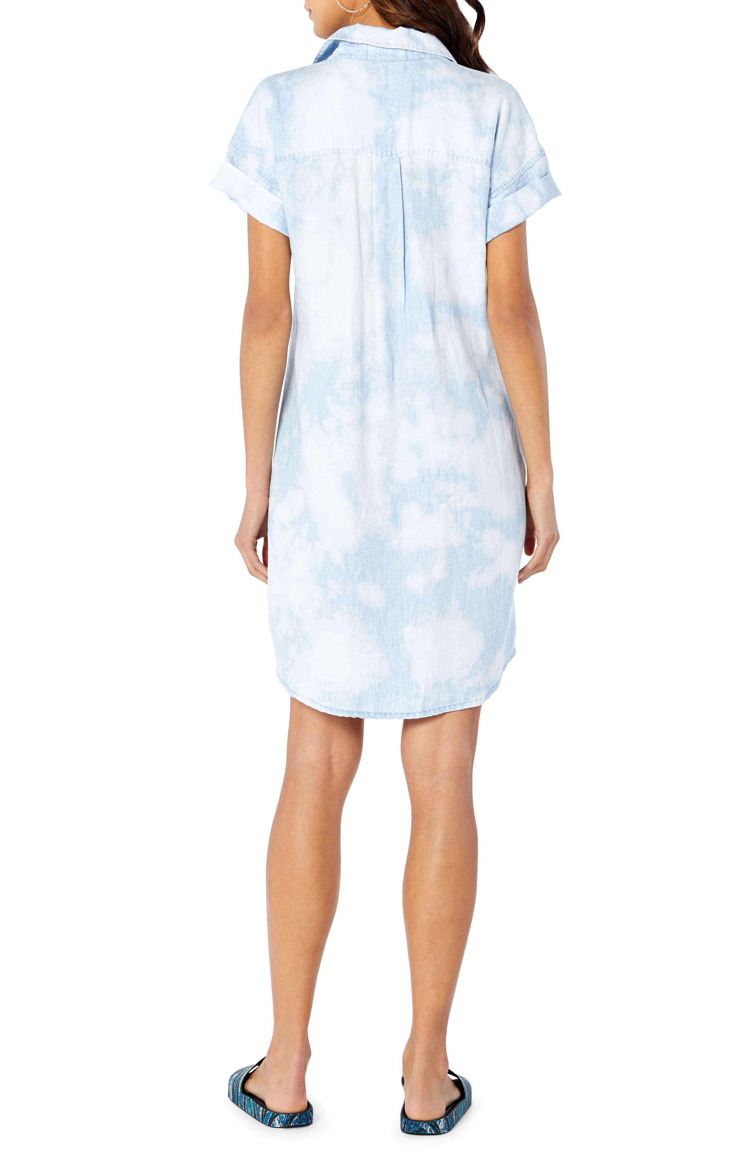 Shirt Dress,                             Alternate thumbnail 2, color,                             144