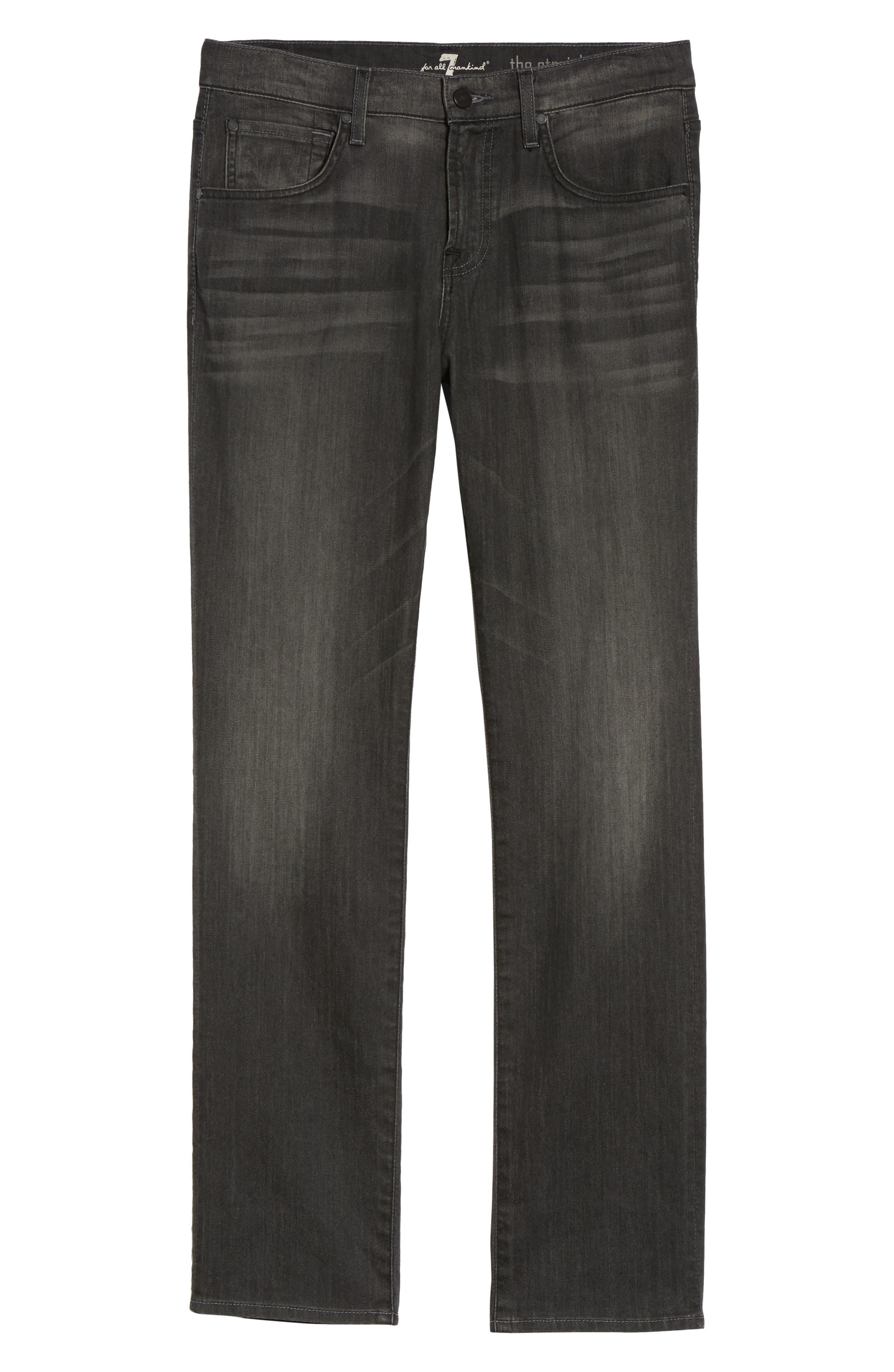 The Straight Slim Straight Leg Jeans,                             Alternate thumbnail 6, color,                             021