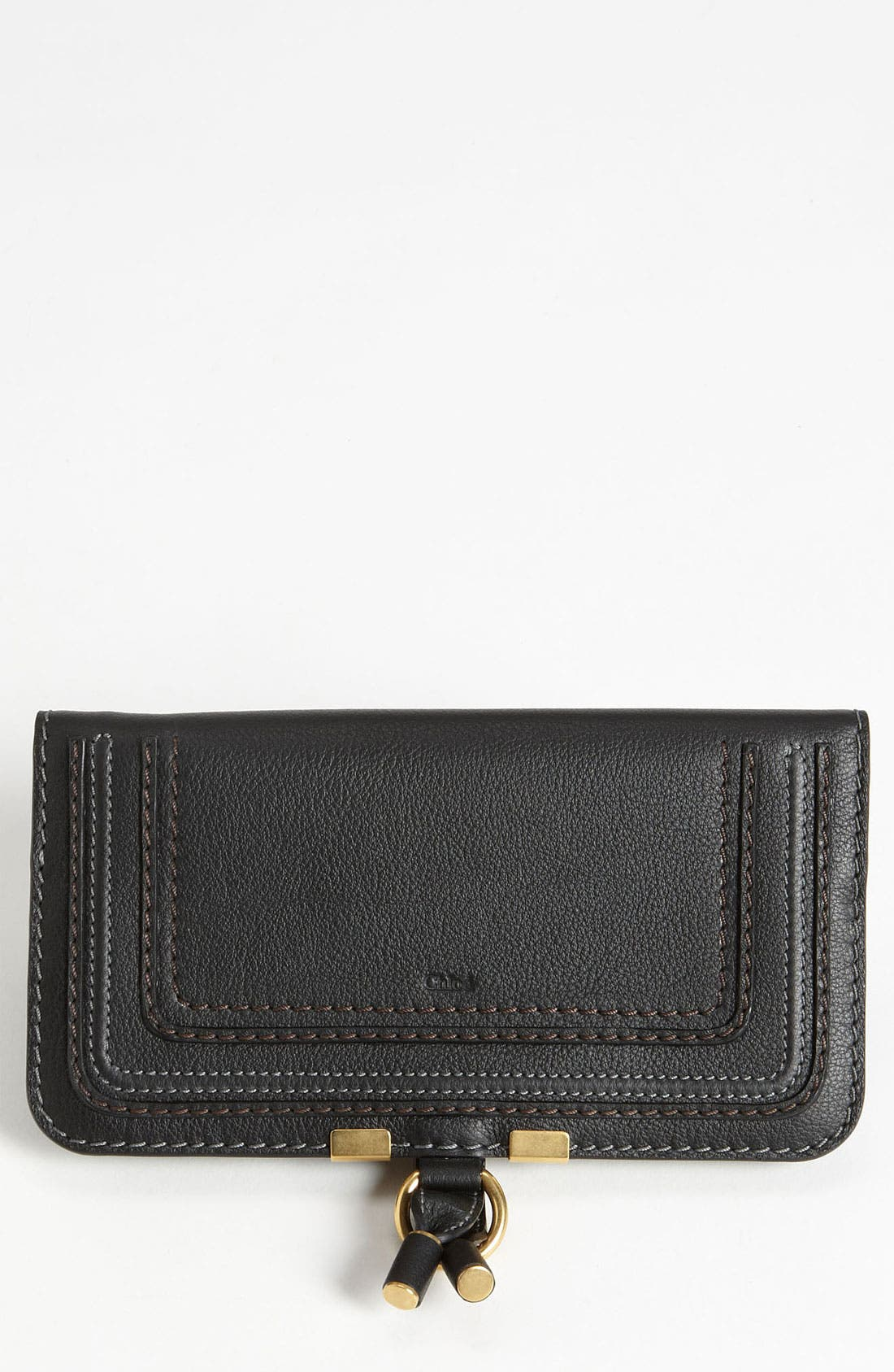 'Marcie' Continental Snap Wallet,                             Main thumbnail 1, color,                             001