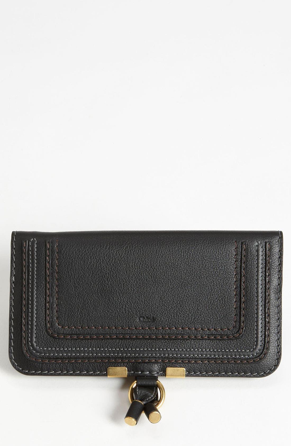 'Marcie' Continental Snap Wallet,                         Main,                         color, 001