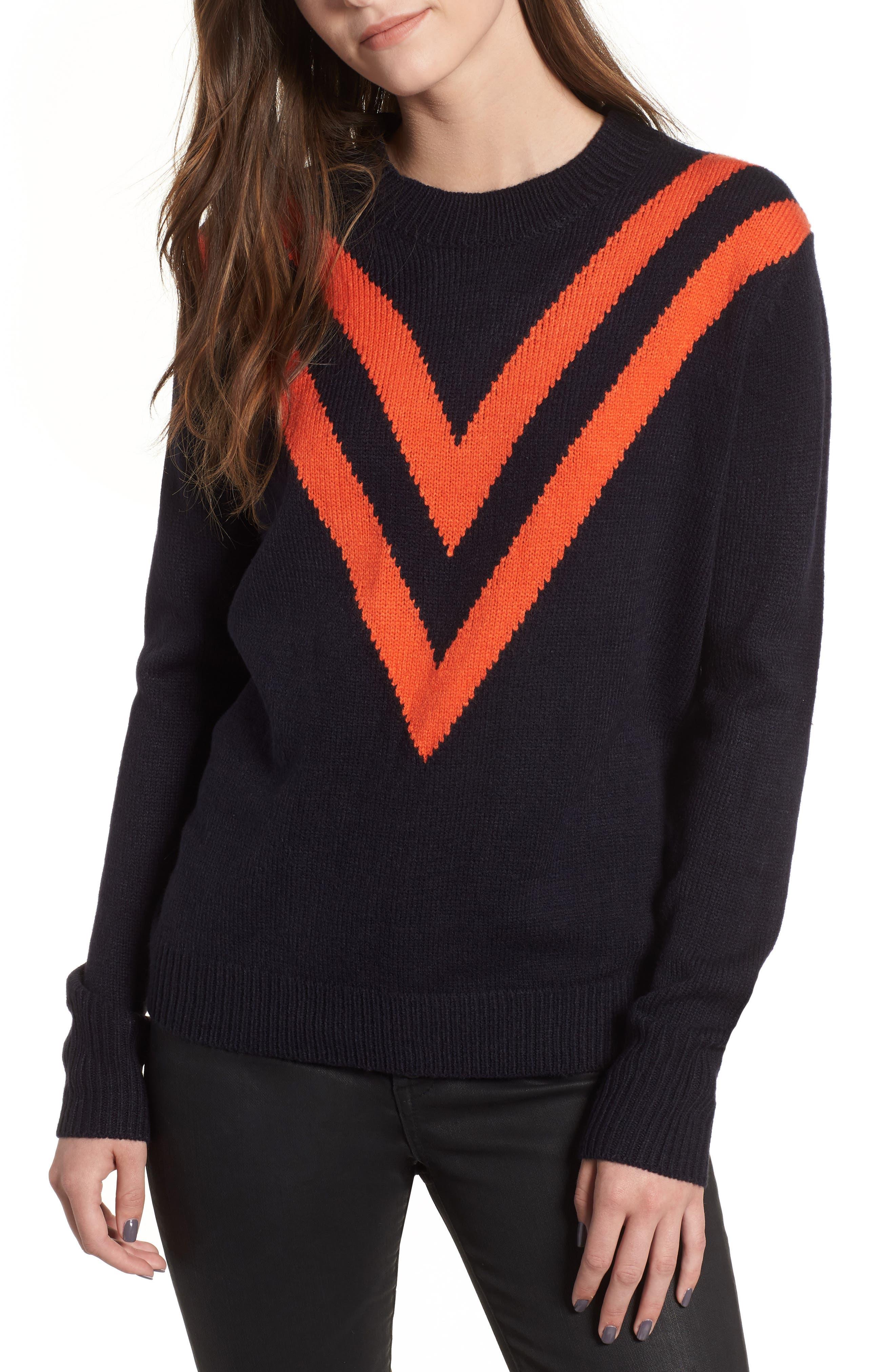 Varsity Sweater,                             Main thumbnail 1, color,                             400
