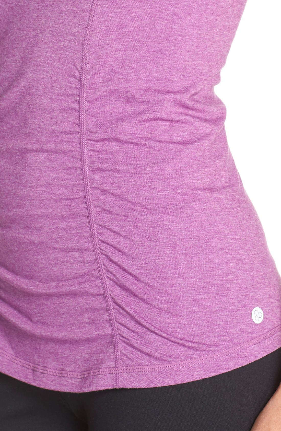 'Z 6' Ruched Tee,                             Alternate thumbnail 30, color,