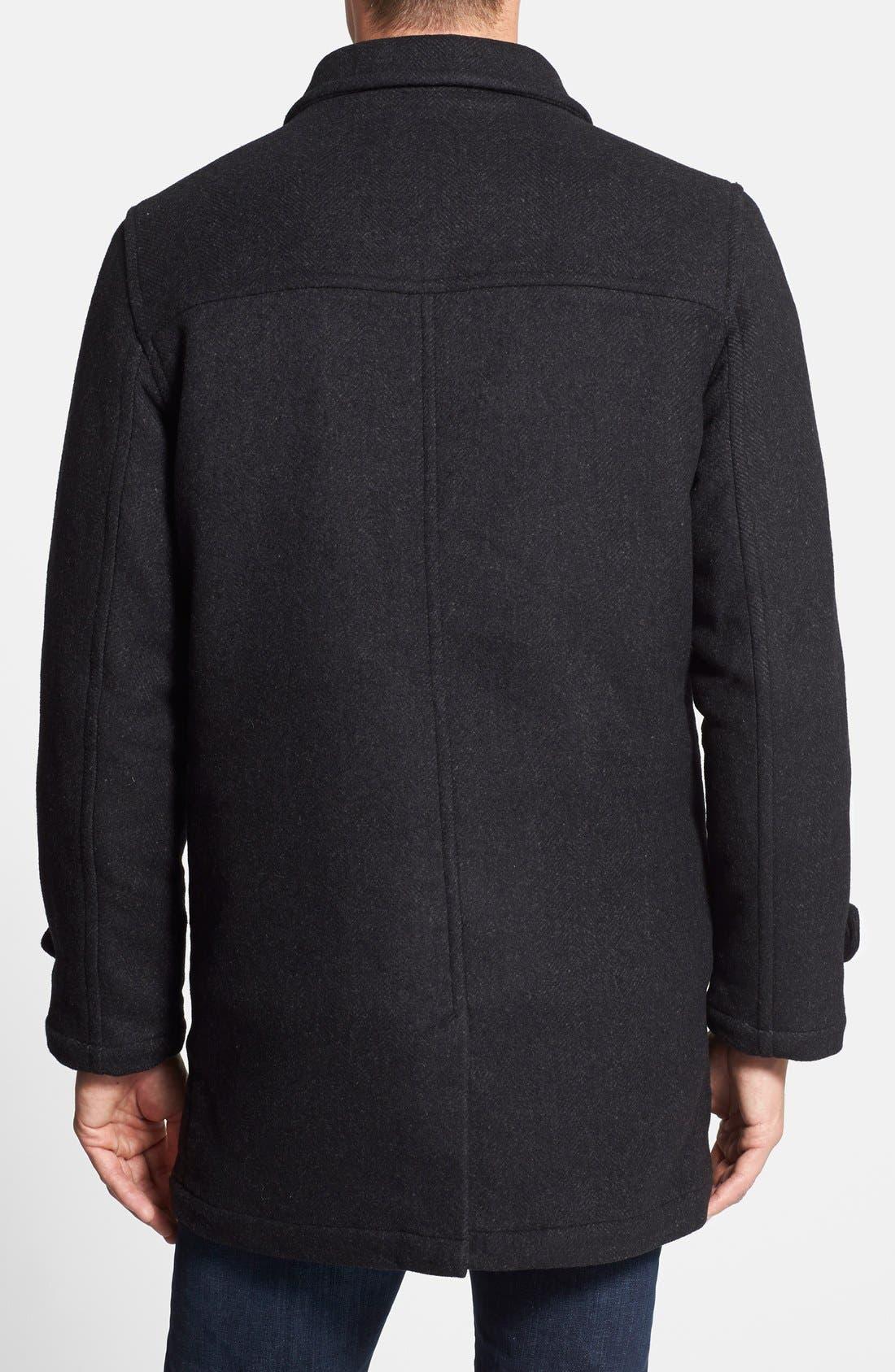 'Westown' 3-in-1 Wool Blend Coat,                             Alternate thumbnail 4, color,
