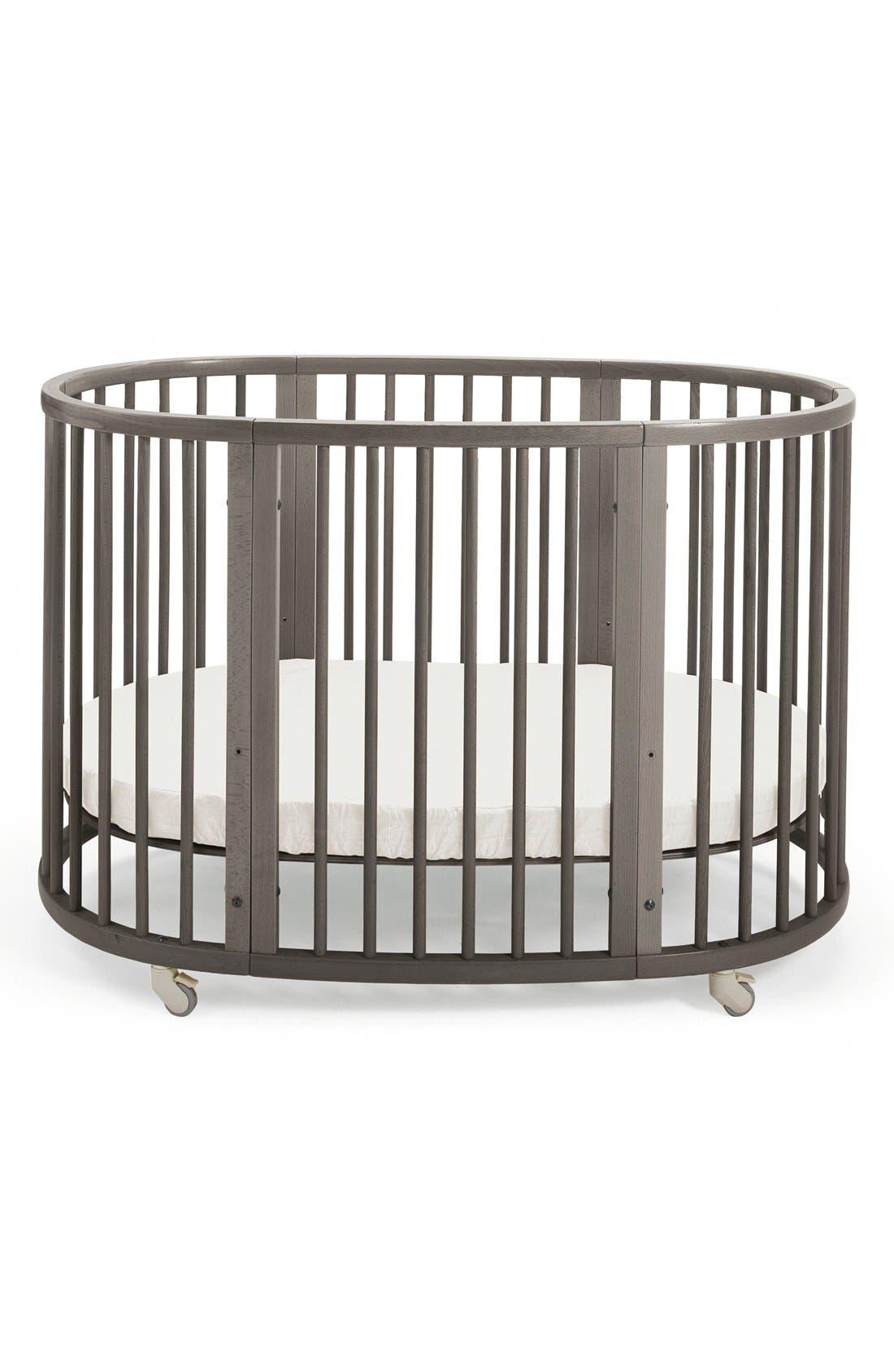 Convertible Sleepi Crib & Toddler Bed,                         Main,                         color, HAZY GREY