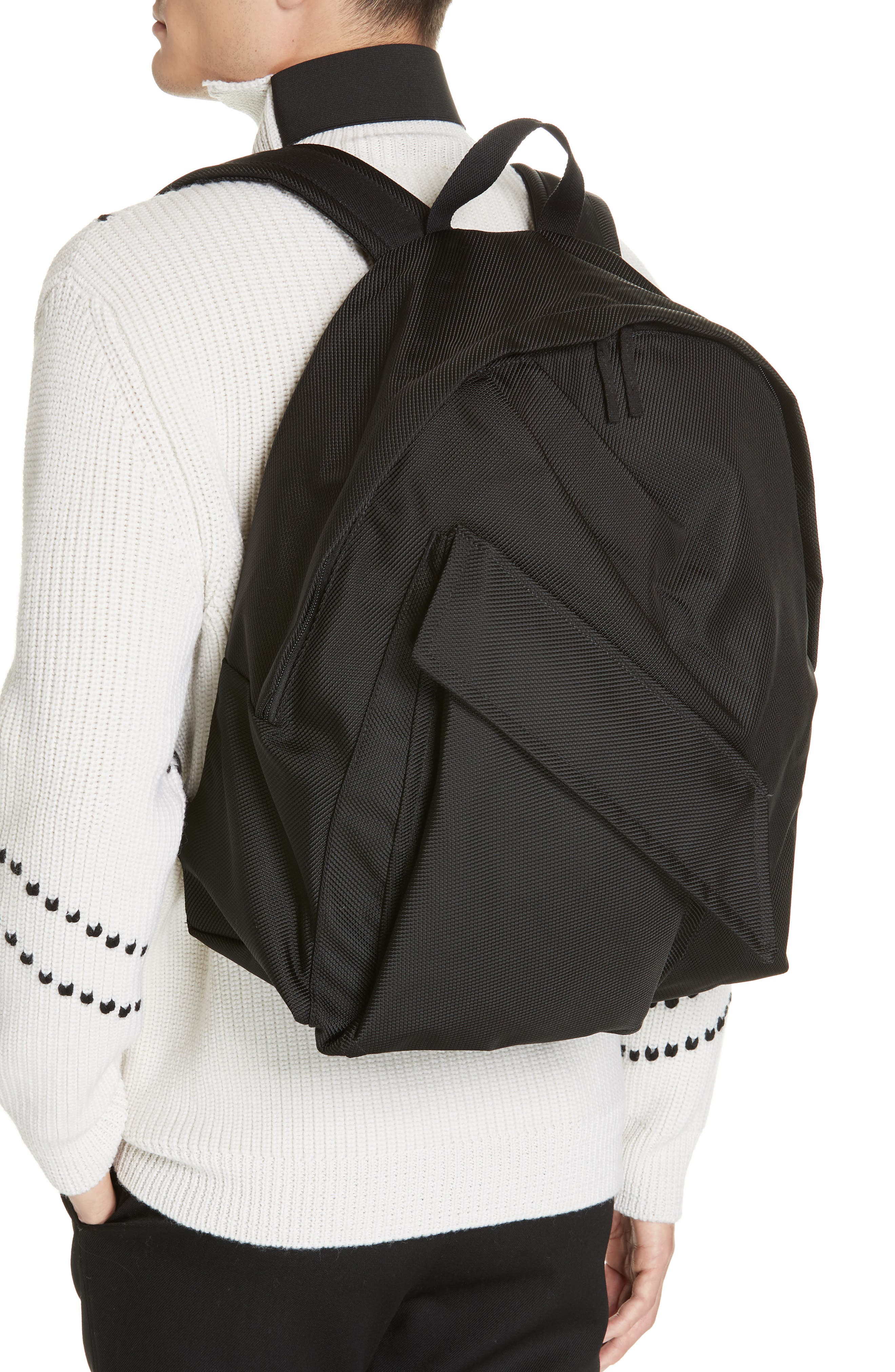 Eastpak x Raf Simons Classic Structured Backpack,                             Alternate thumbnail 2, color,                             001