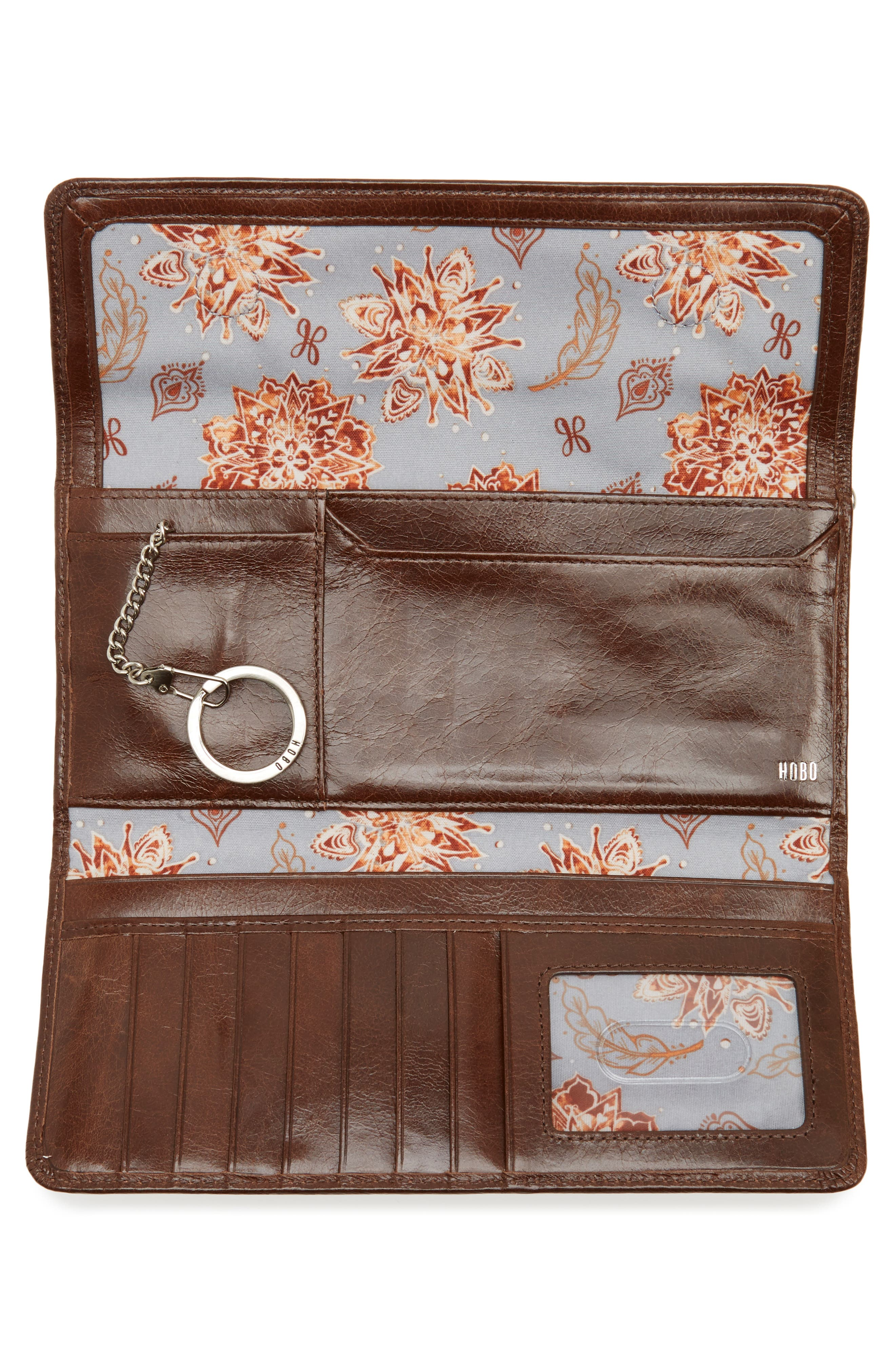 'Sadie' Leather Wallet,                             Alternate thumbnail 138, color,