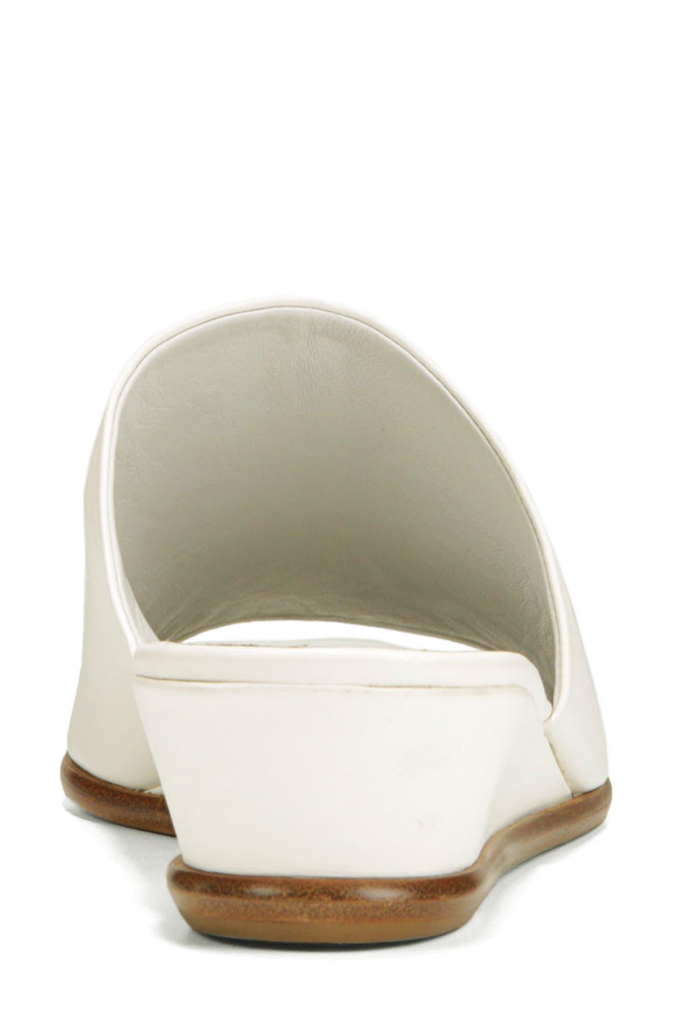 VINCE,                             Duvall Asymmetrical Wedge Sandal,                             Alternate thumbnail 7, color,                             OFF WHITE