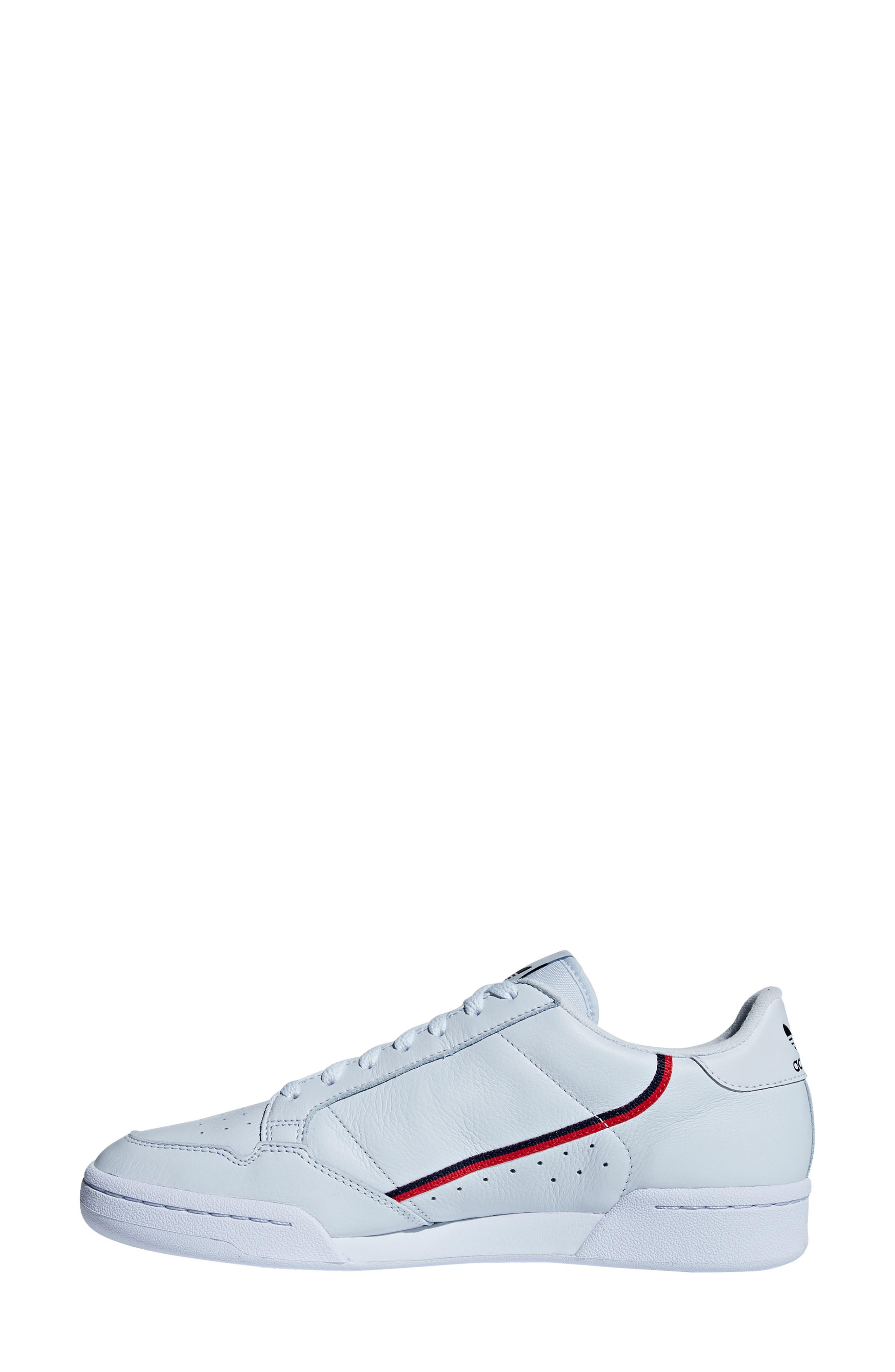 Continental 80 Sneaker,                             Alternate thumbnail 10, color,                             AERO BLUE/ SCARLET/ NAVY