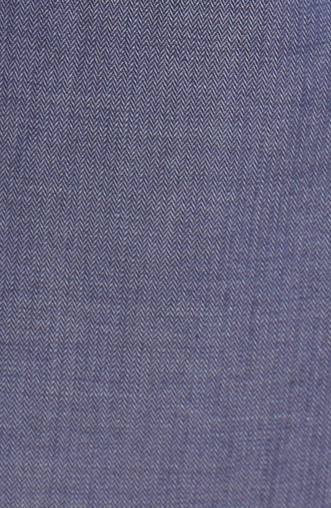 Herringbone Tuxedo Inset Shirt,                             Alternate thumbnail 2, color,                             466