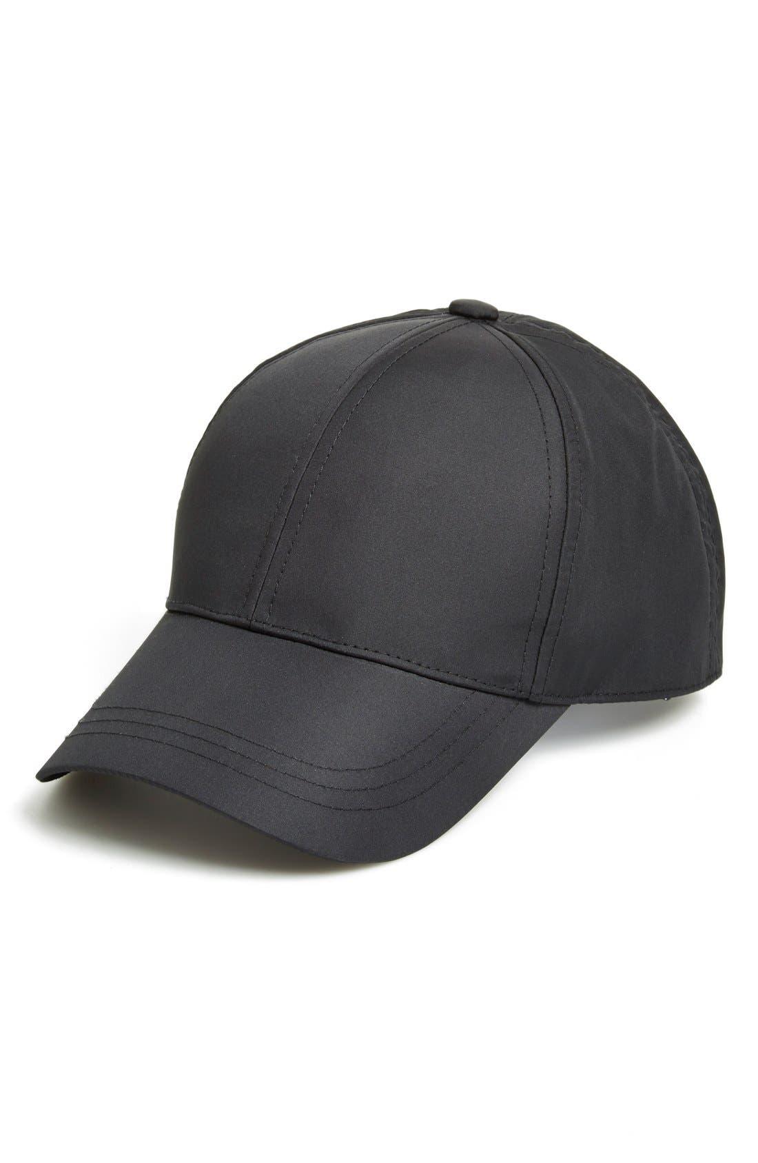 Nylon Baseball Cap,                         Main,                         color, 001