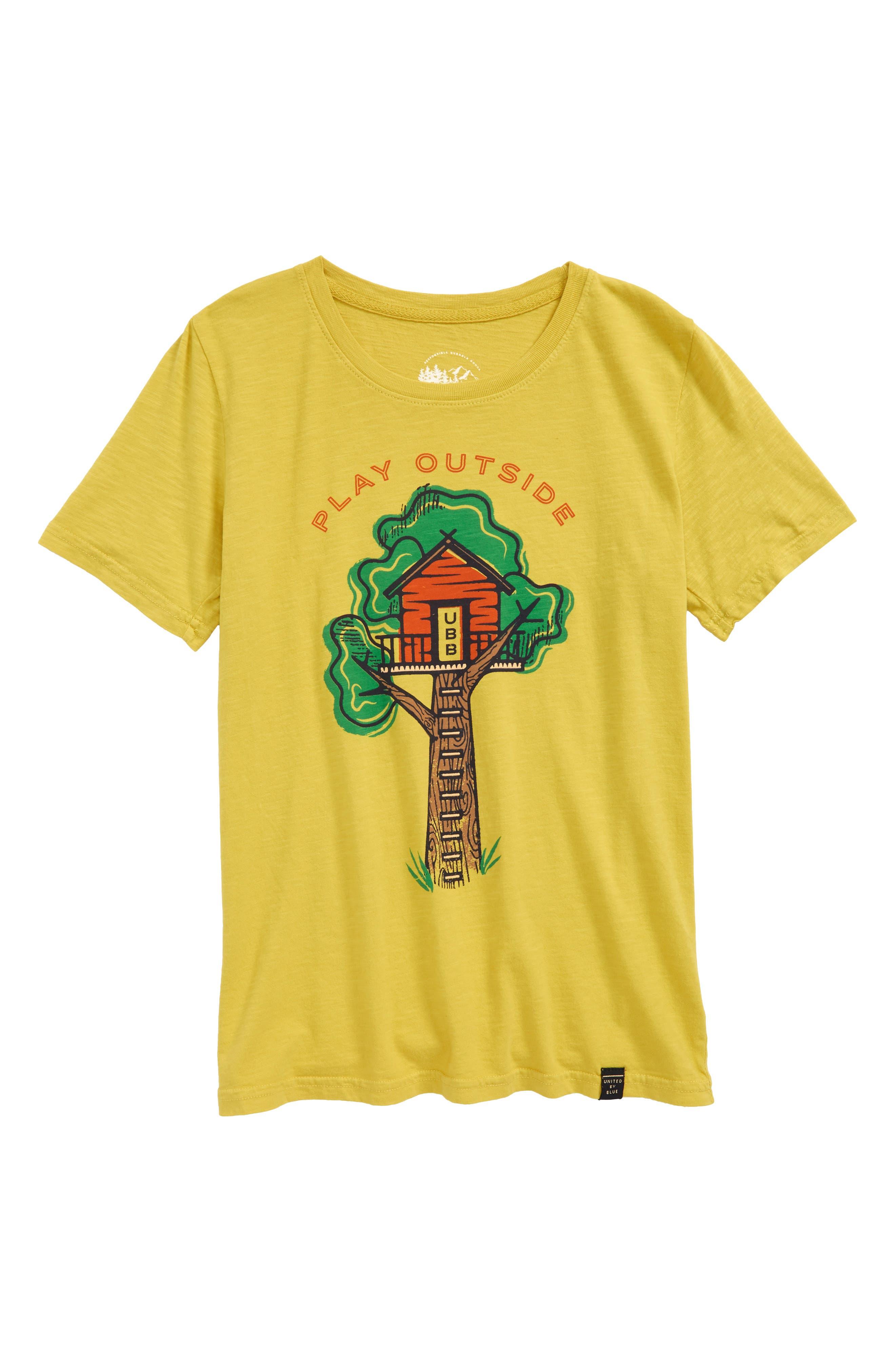 Treehouse Organic Cotton T-Shirt,                             Main thumbnail 1, color,                             700