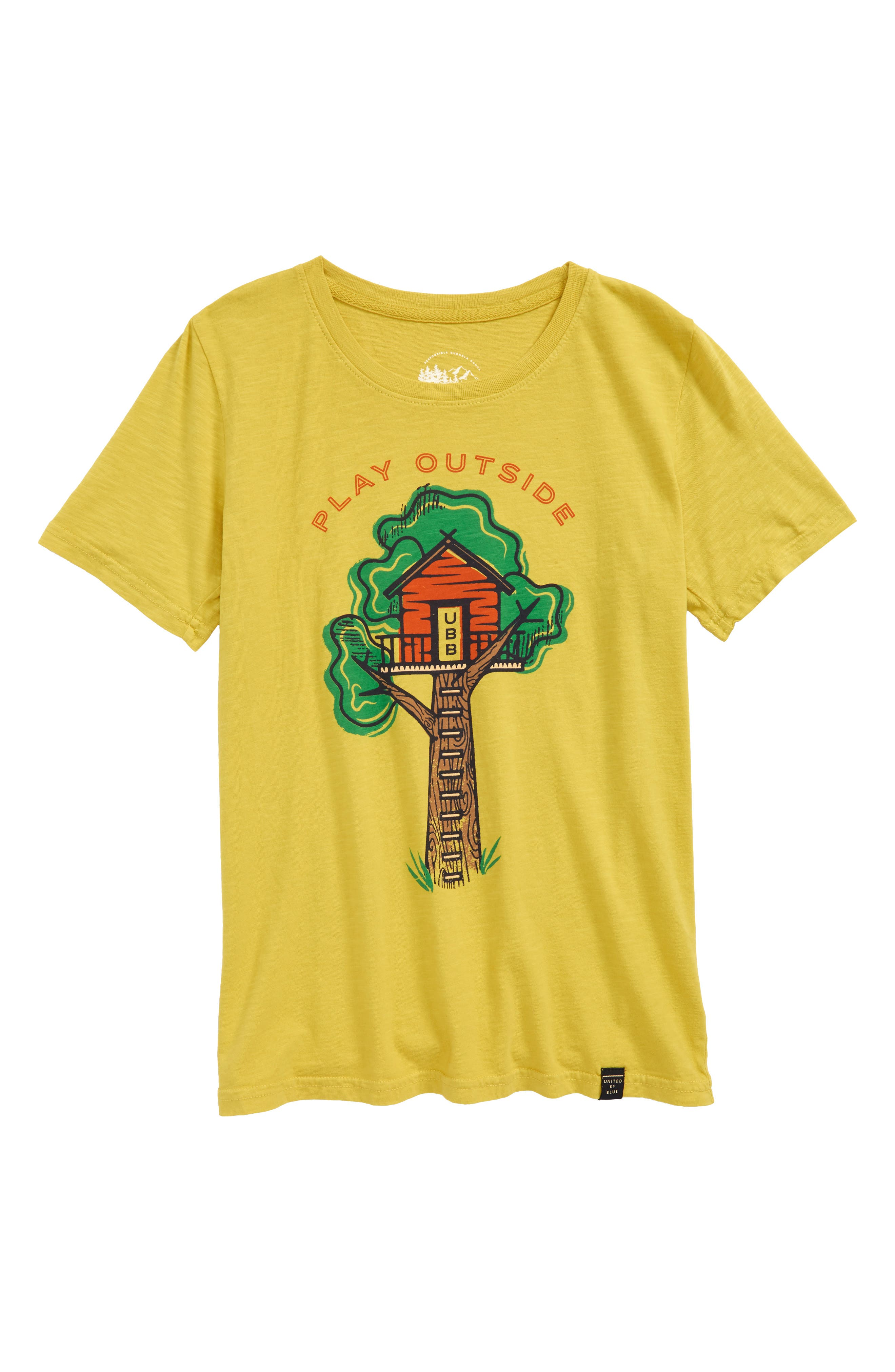 Treehouse Organic Cotton T-Shirt,                         Main,                         color, 700