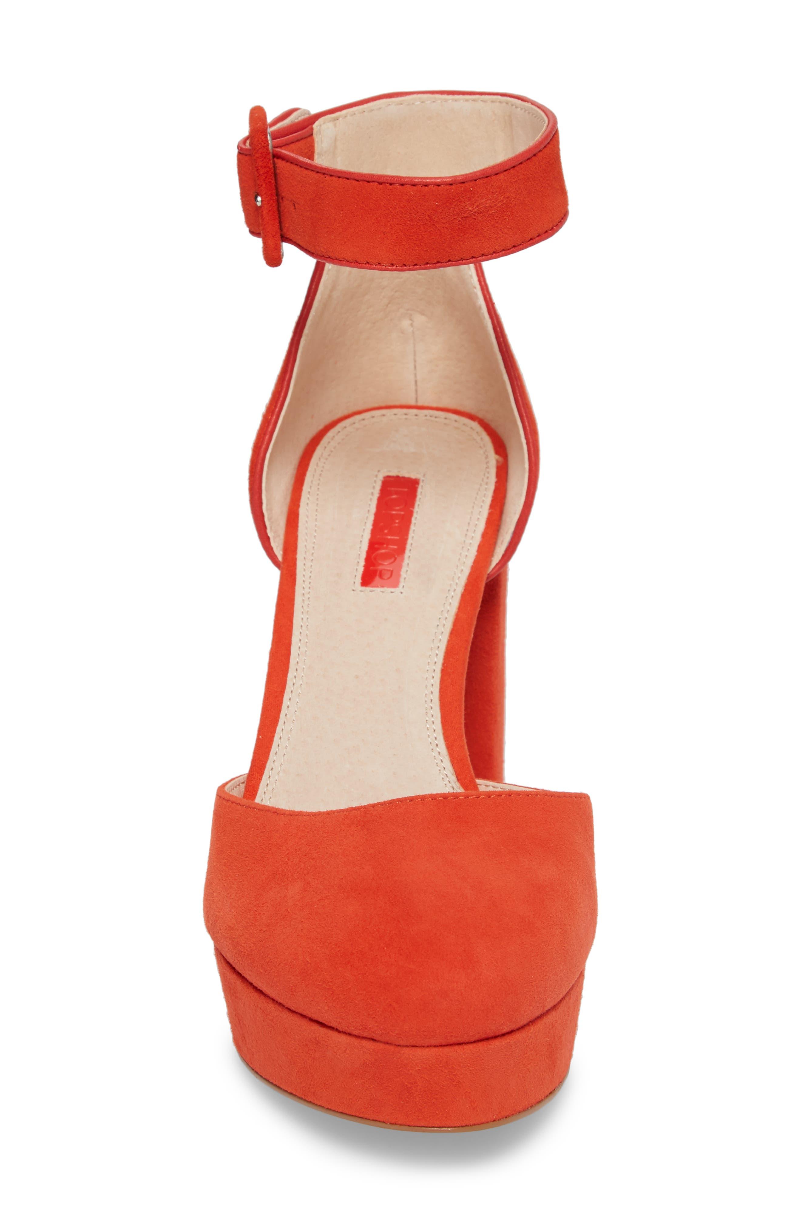 Ankle Strap Platform Sandal,                             Alternate thumbnail 8, color,