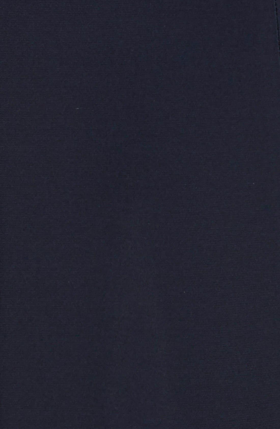 Matte Jersey Faux Wrap Fit & Flare Dress,                             Alternate thumbnail 12, color,