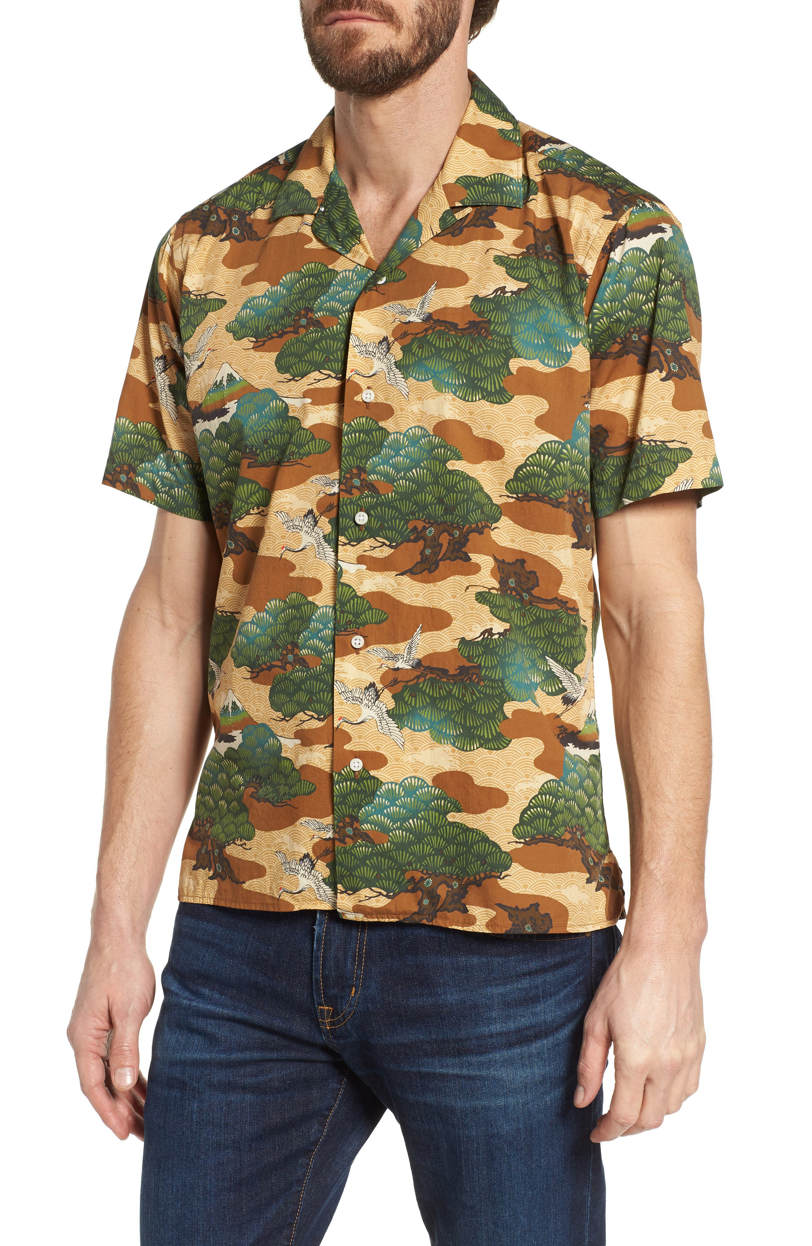 Camp Shirt,                             Main thumbnail 1, color,                             960